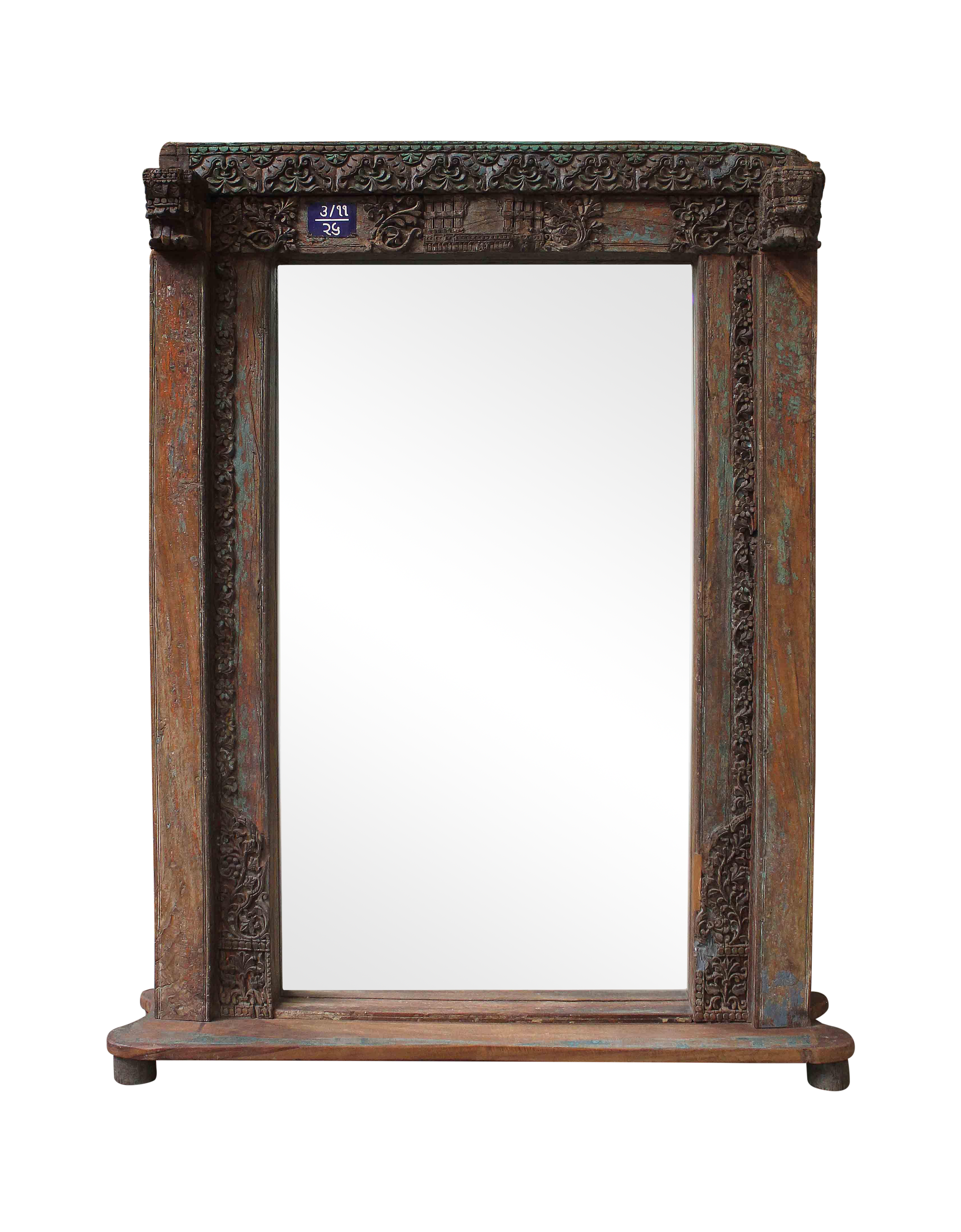 Vintage Mansion 3 99 Door Mirror Chairish