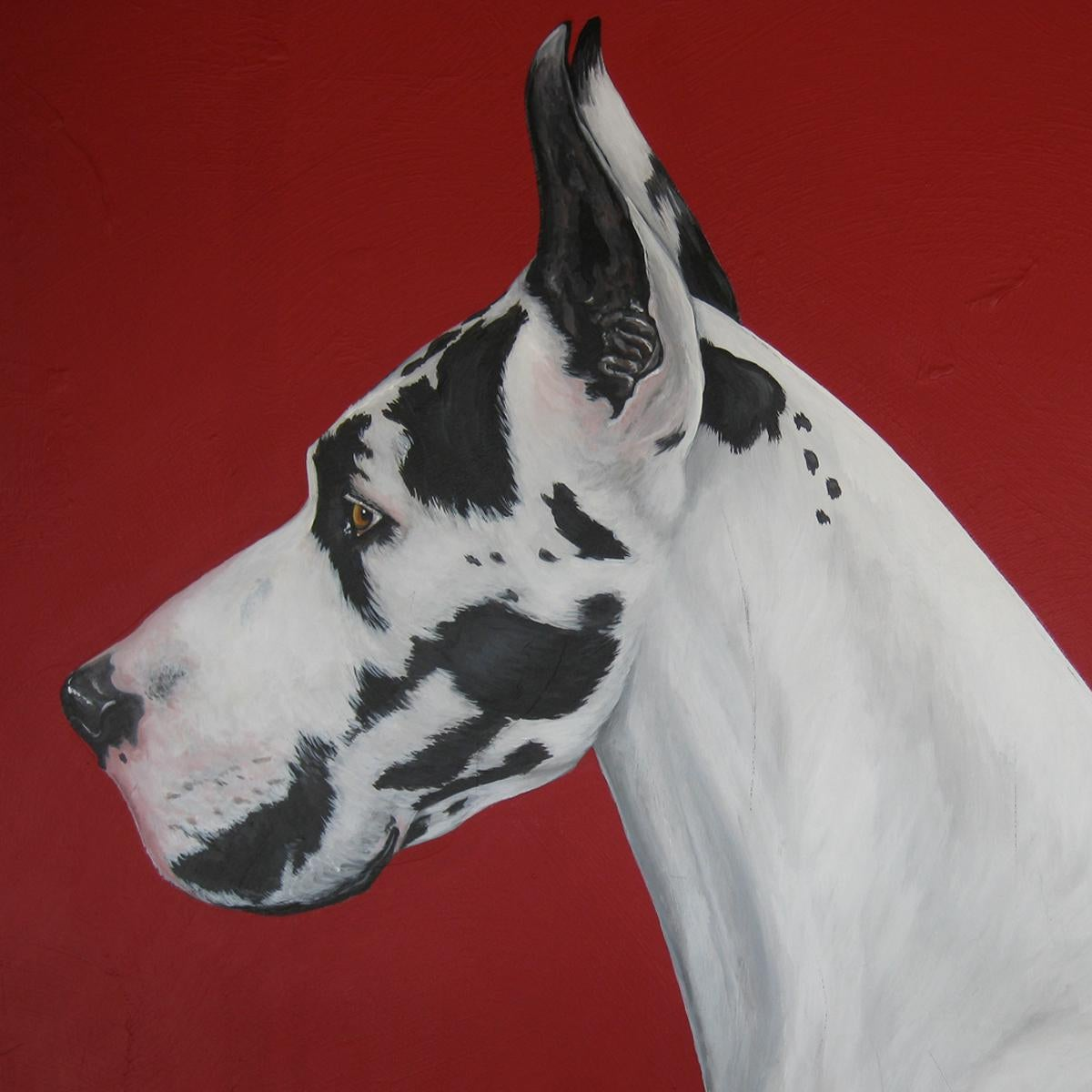 Quot Best In Show Quot Great Dane Acrylic Painting Chairish