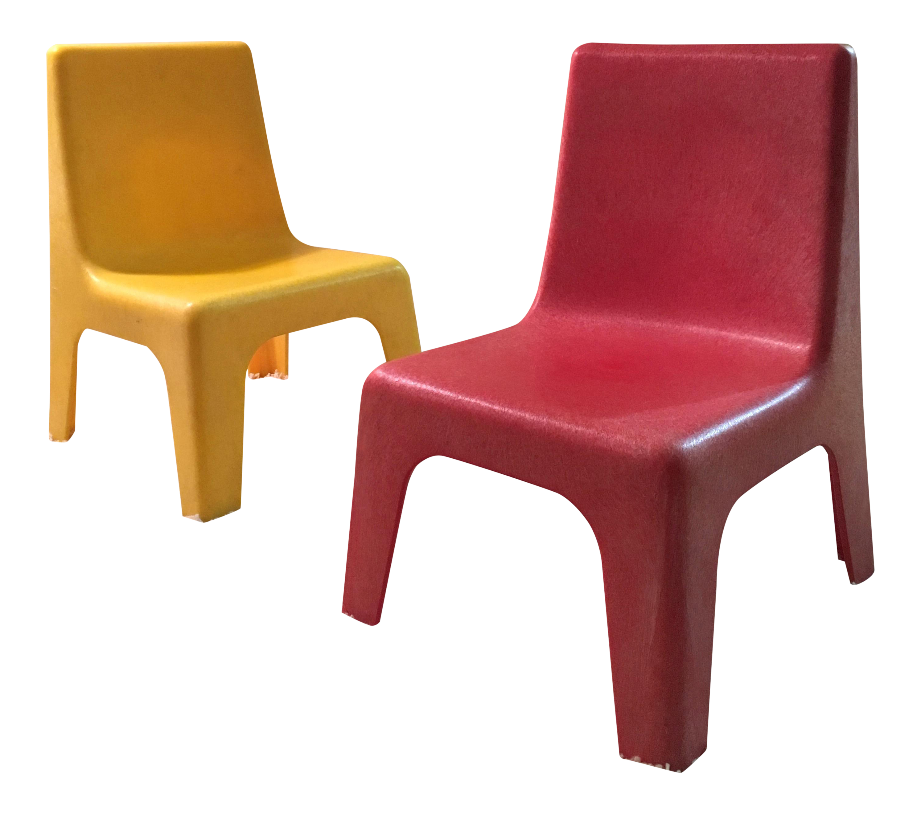 Vintage Kid S Stacking Chairs A Pair
