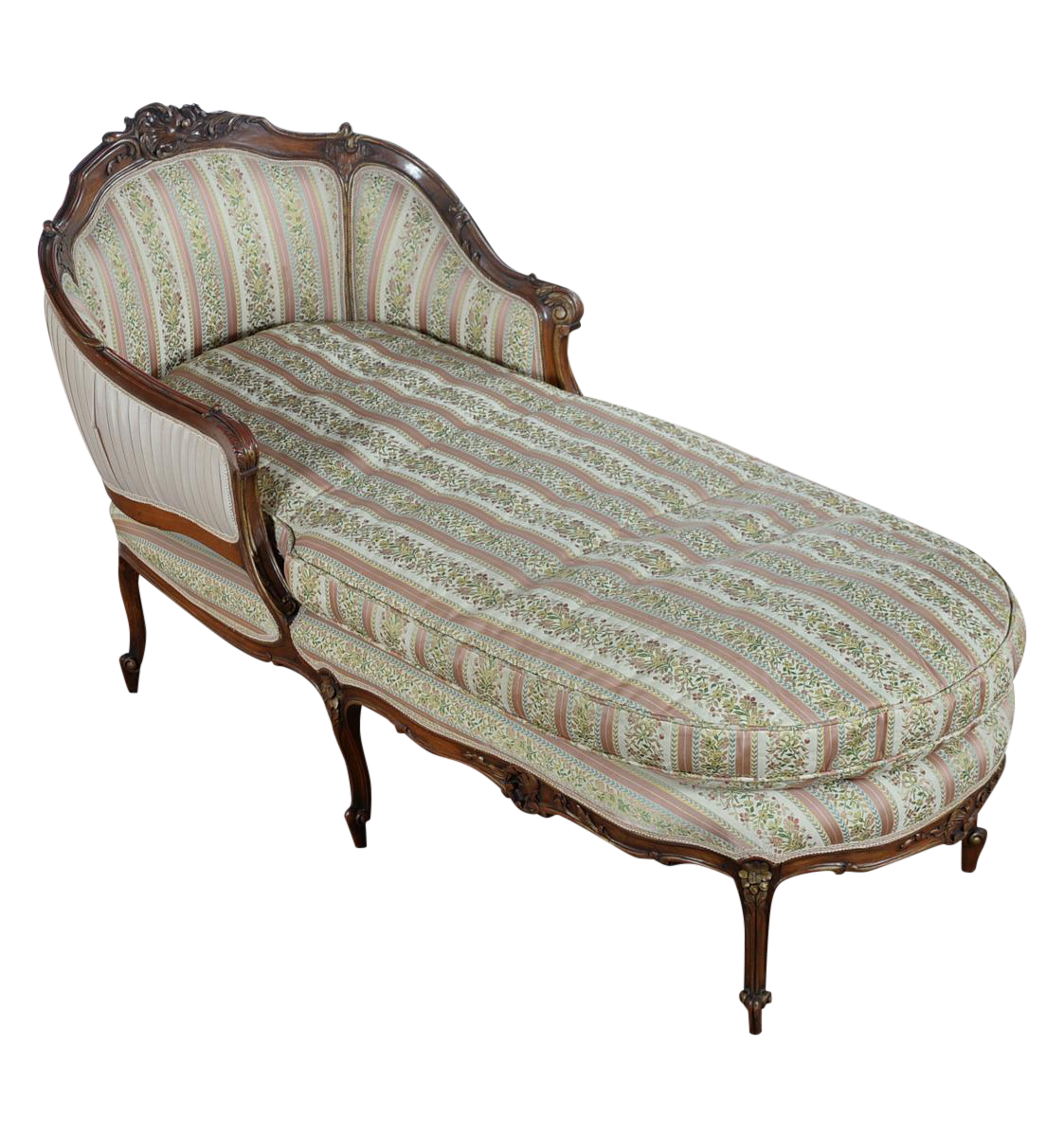 french louis longue period chaise xv
