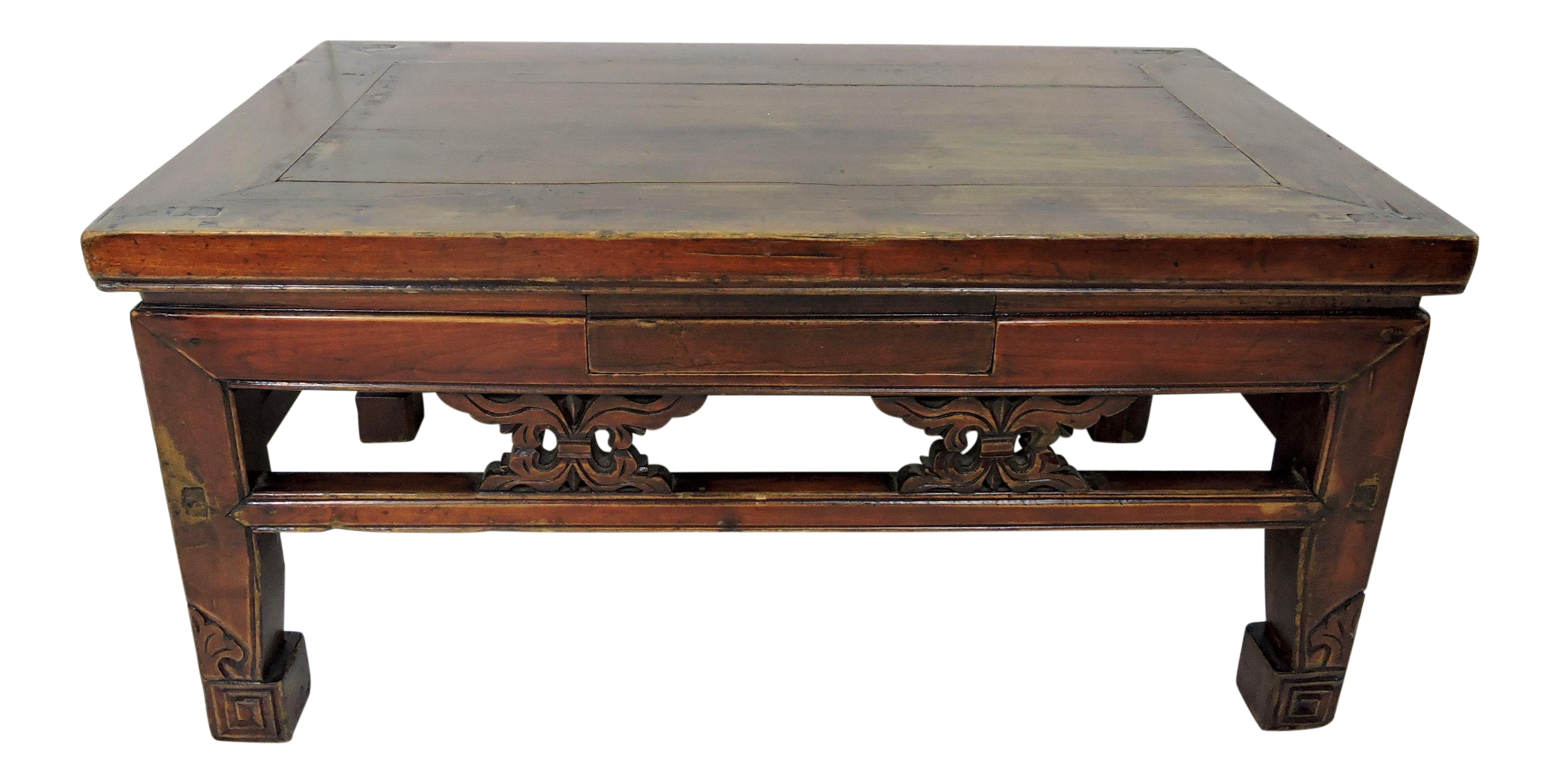Side Table Chinees.Antique Chinese Wood Opium Side Or Coffee Table 19th Century