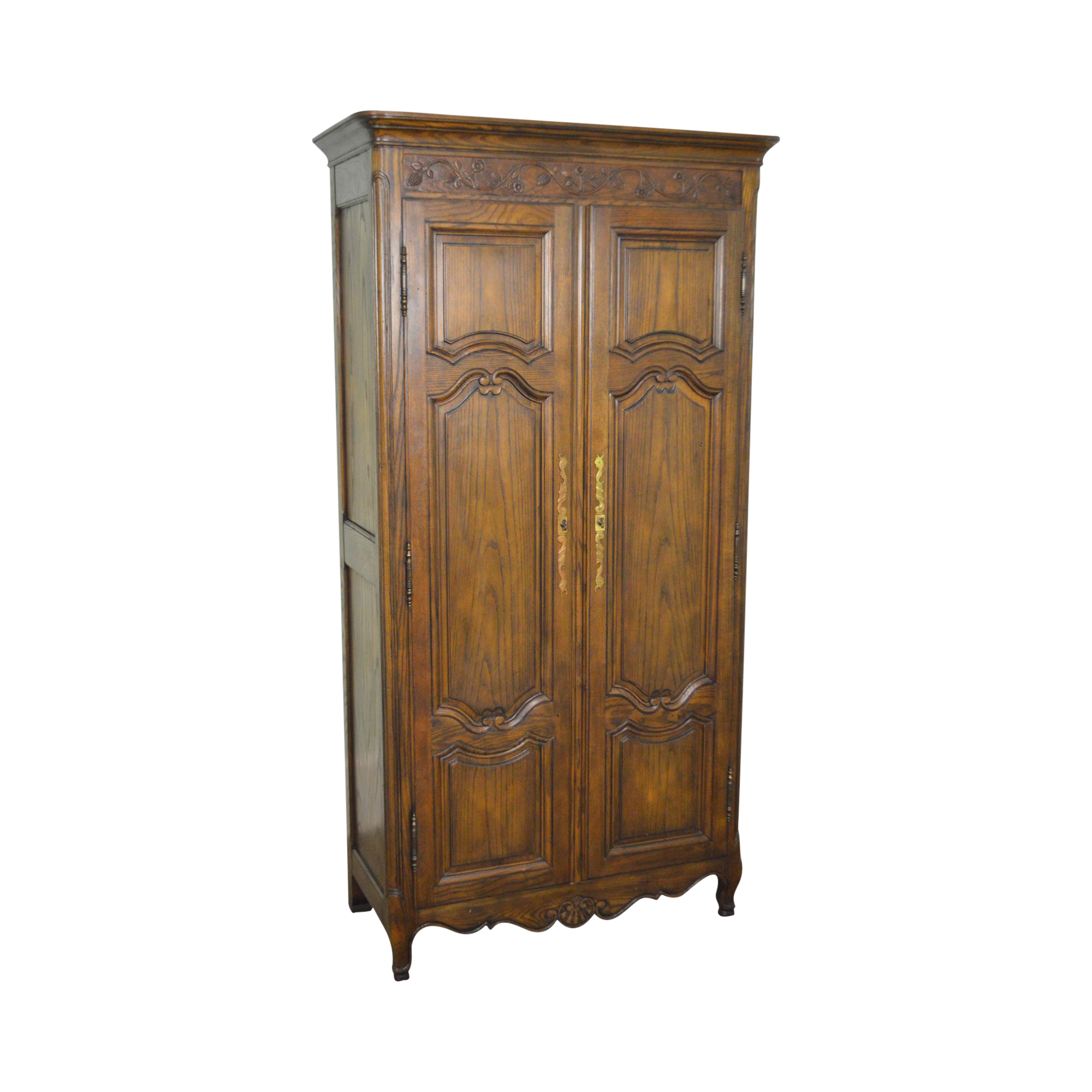 Baker French Louis Xv Style Large Armoire Cabinet Chairish