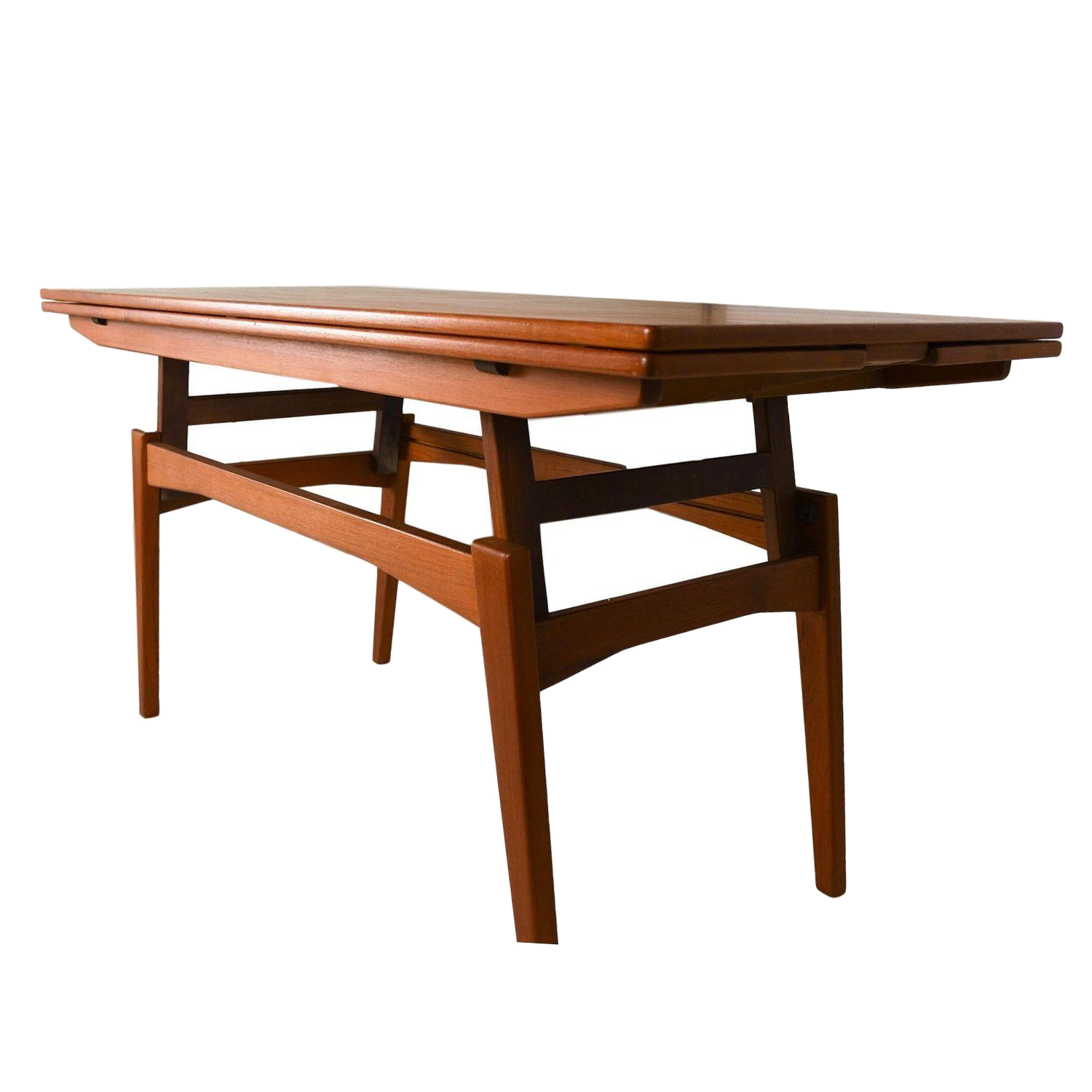 Danish Teak Convertible Dining Coffee Table