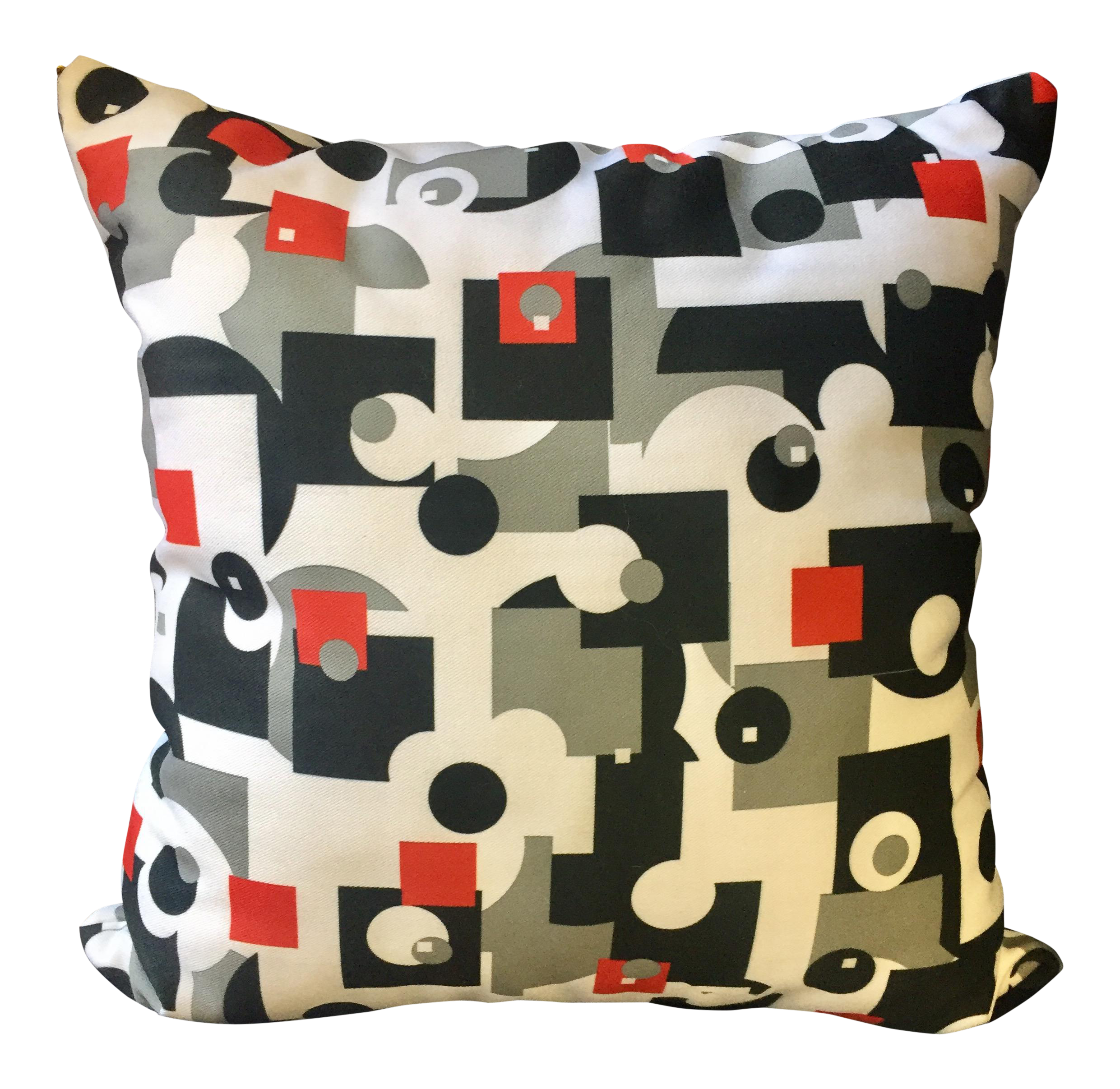 Mid-Century Style Throw Pillow Chairish