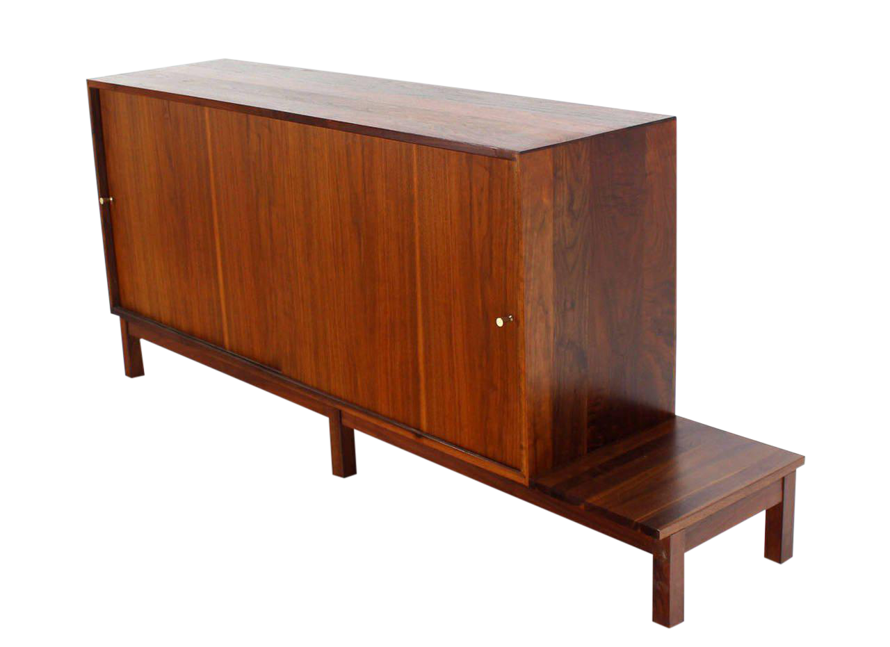 Danish Credenza Walnut : Danish mid century modern vintage sideboards credenzas shelving