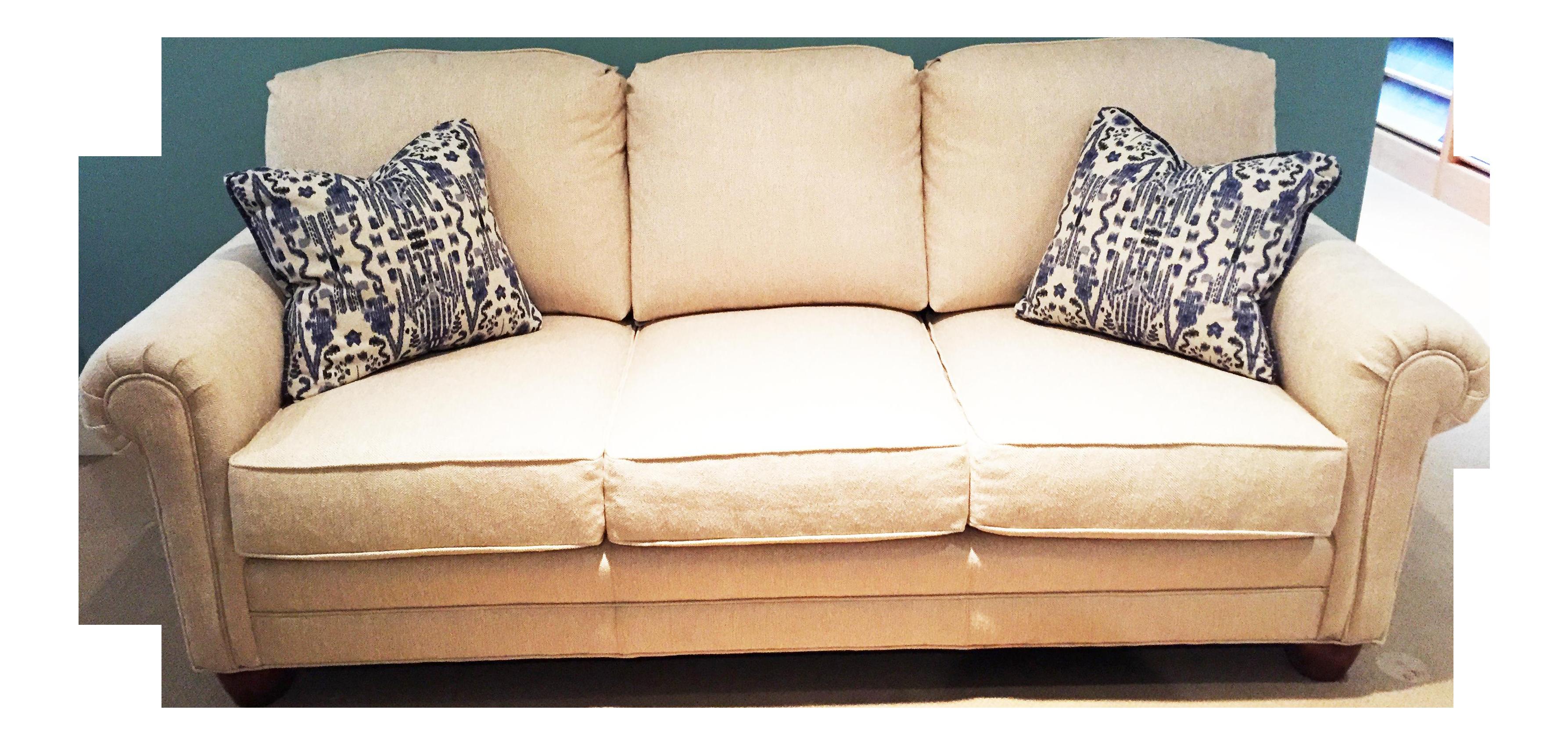 Modern Harden Furniture Ivory Sofa Chairish
