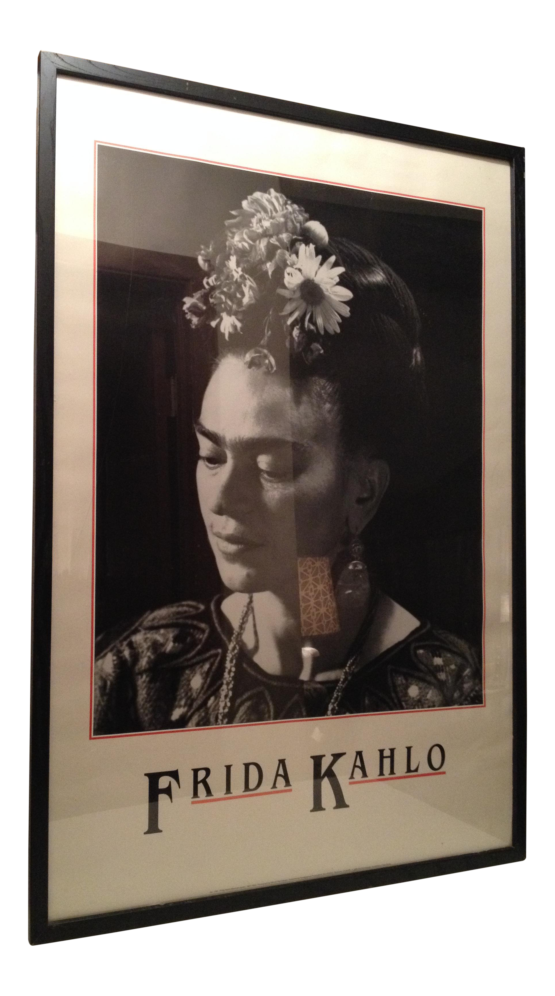 frida kahlo framed print chairish With kitchen cabinet trends 2018 combined with frida kahlo wall art