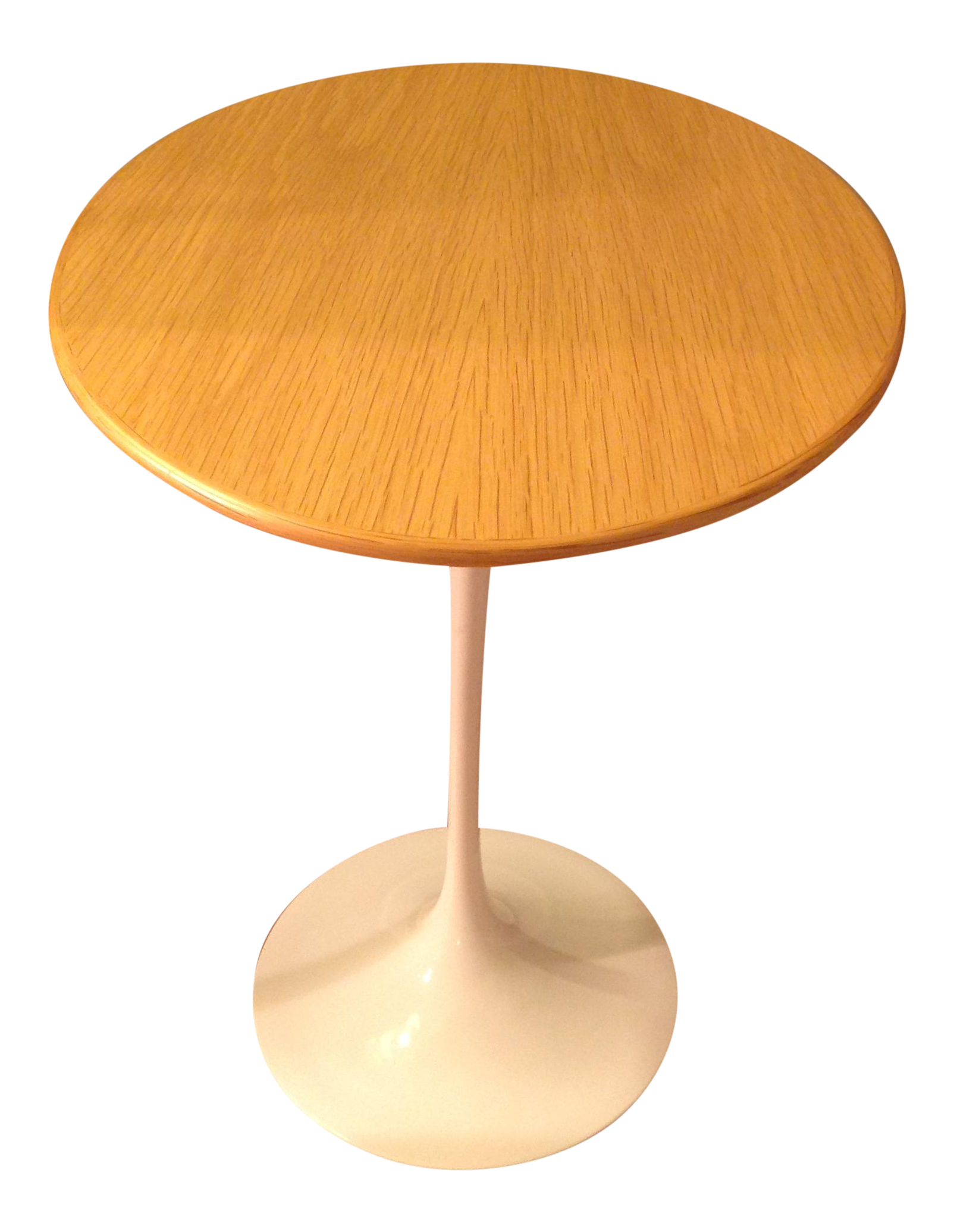 Eero Saarinen For Knoll Oval Tulip Side Table Chairish