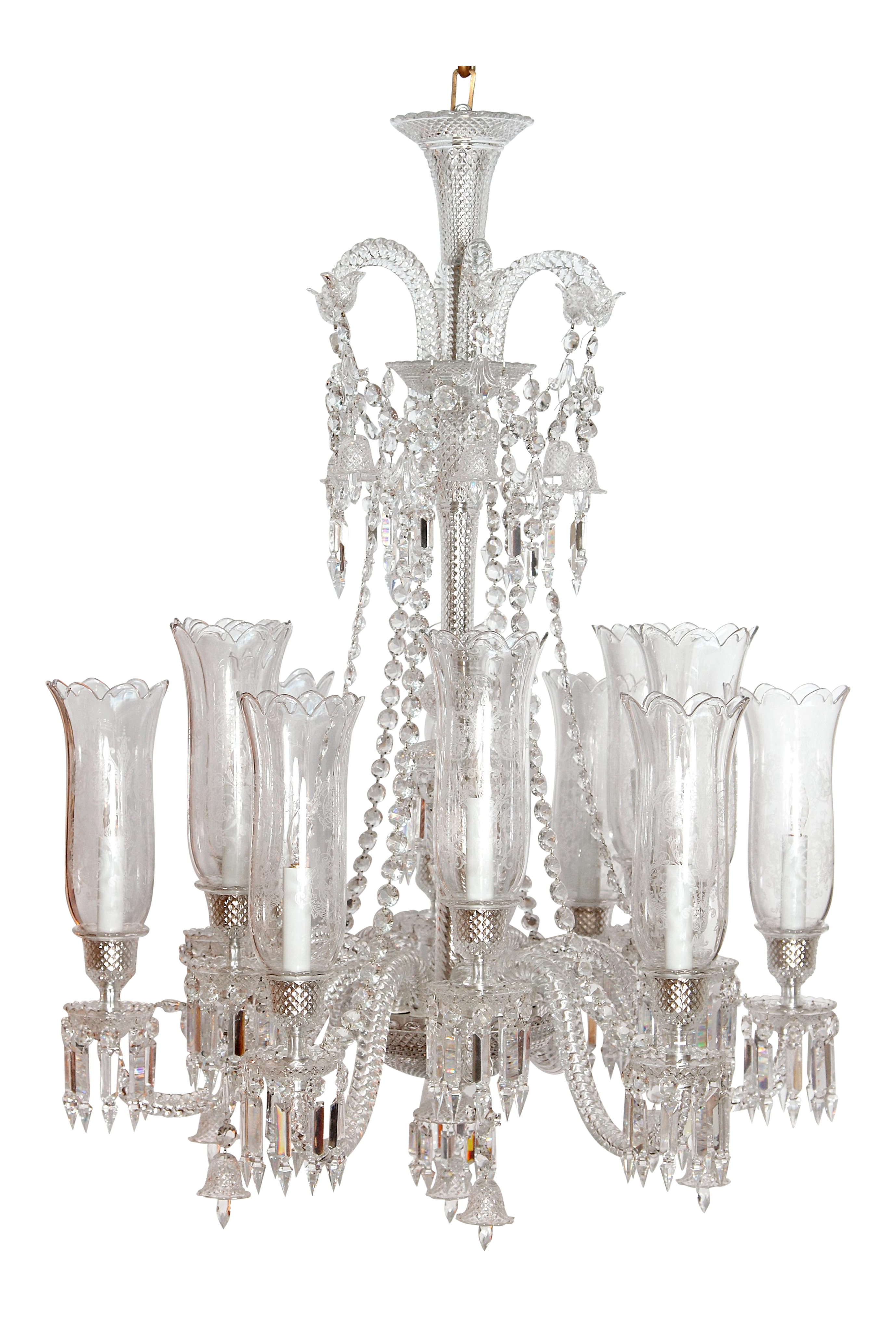 High end philippe starck for baccarat zenith long 12 light high end philippe starck for baccarat zenith long 12 light chandelier decaso arubaitofo Images