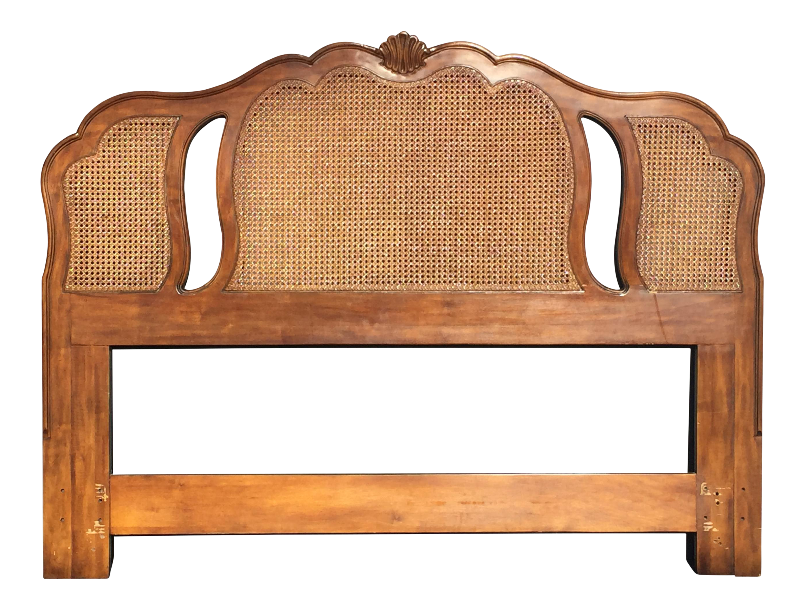 upholstered headboards bedroom shabby provincial and cane louis full rattan wood beautiful farmhouse size iron vintage cast country king decorating superb alluring cozy rococo french footboard design style frame headboard padded carved gold wooden of double antique queen