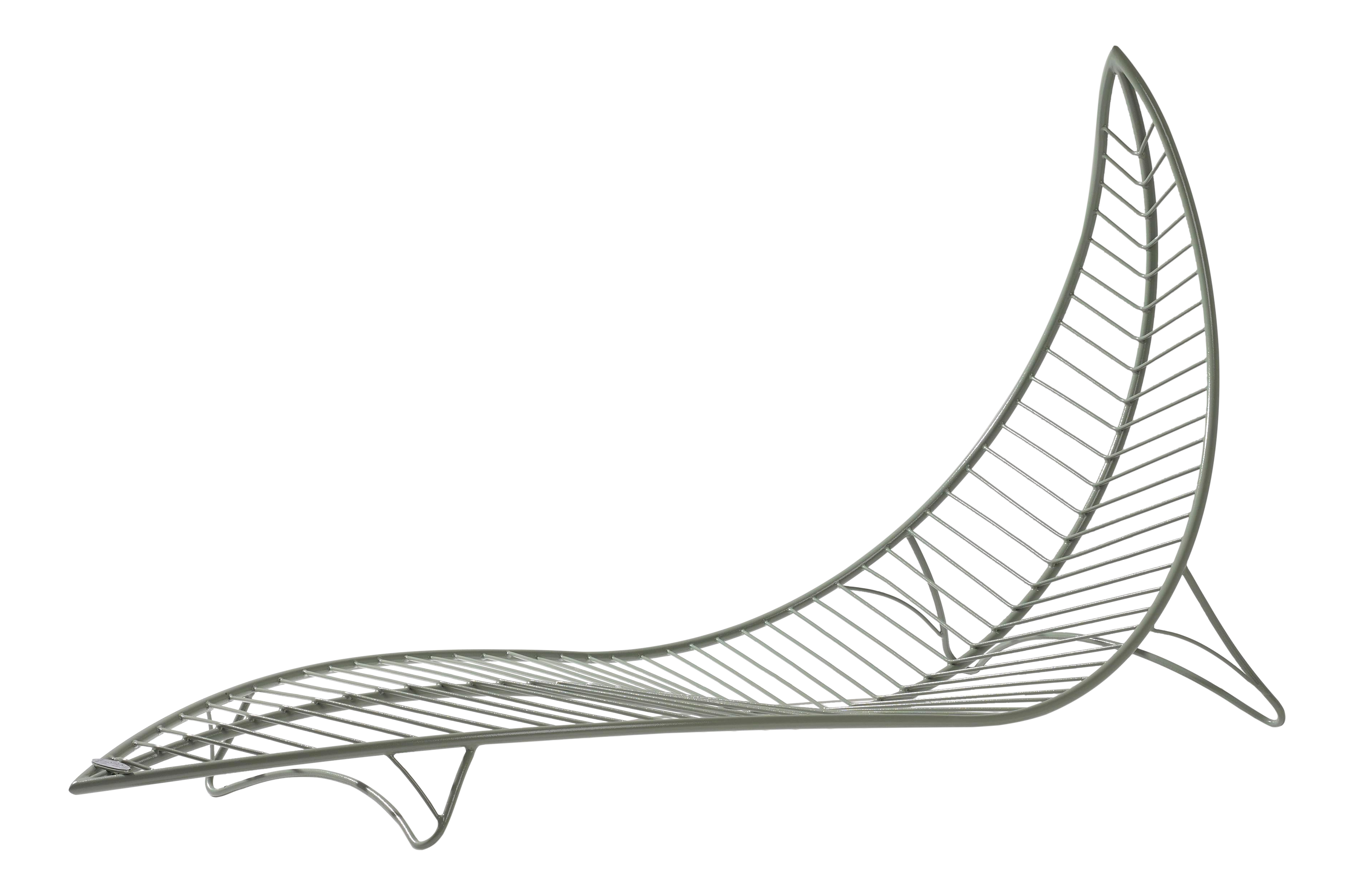 Low Stand Leaf Lounger Chair Chairish