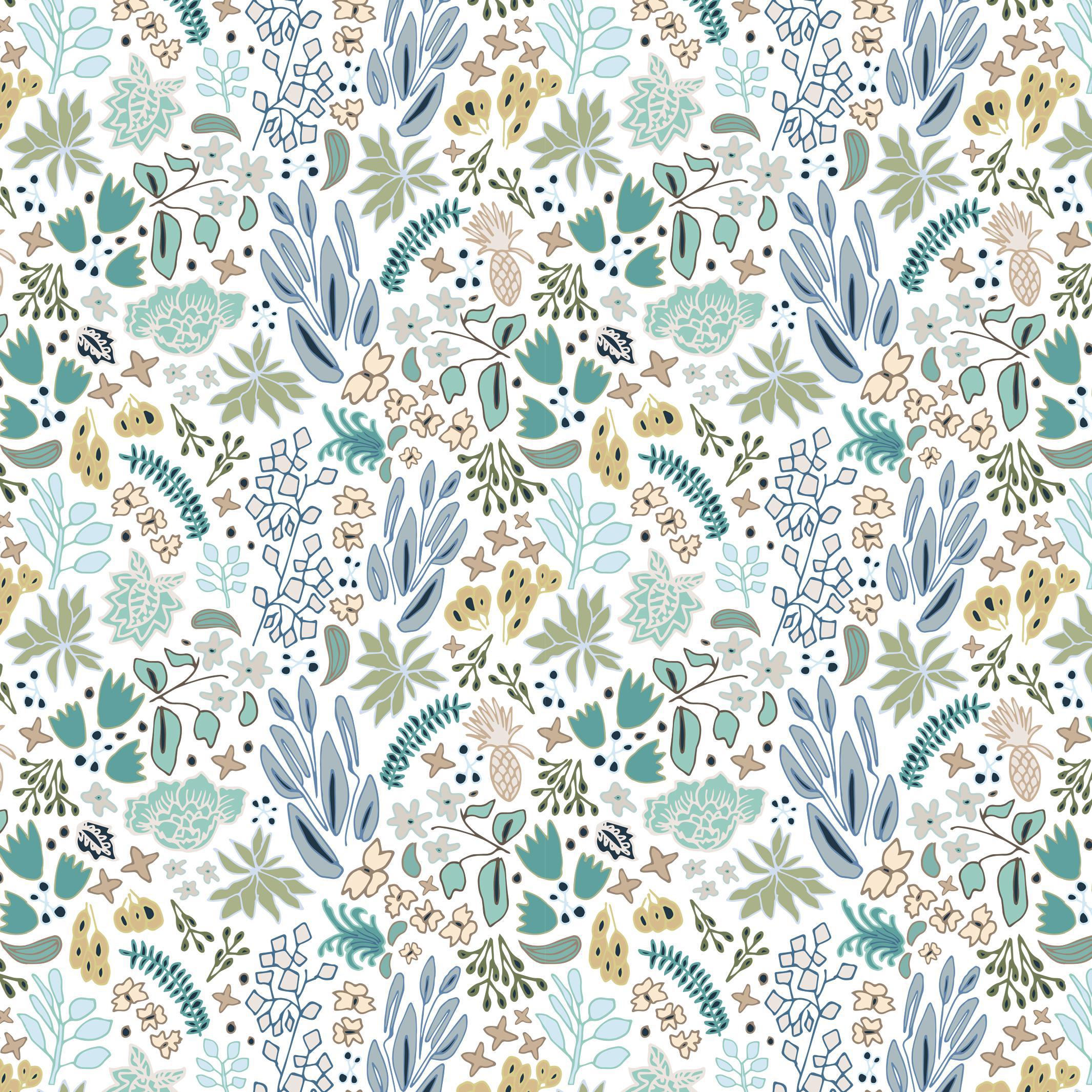 House Of Harris Cambridge Wallpaper 30 Yards Blue Chairish