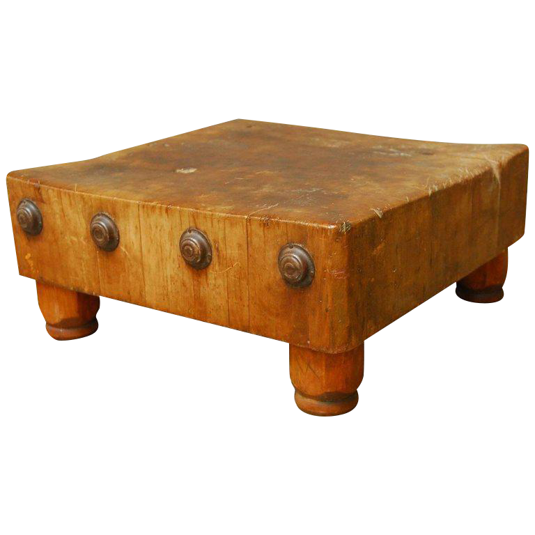 michigan maple wood welded table top butcher block vintage  u0026 used kitchen islands  u0026 butcherblocks   chairish  rh   chairish com