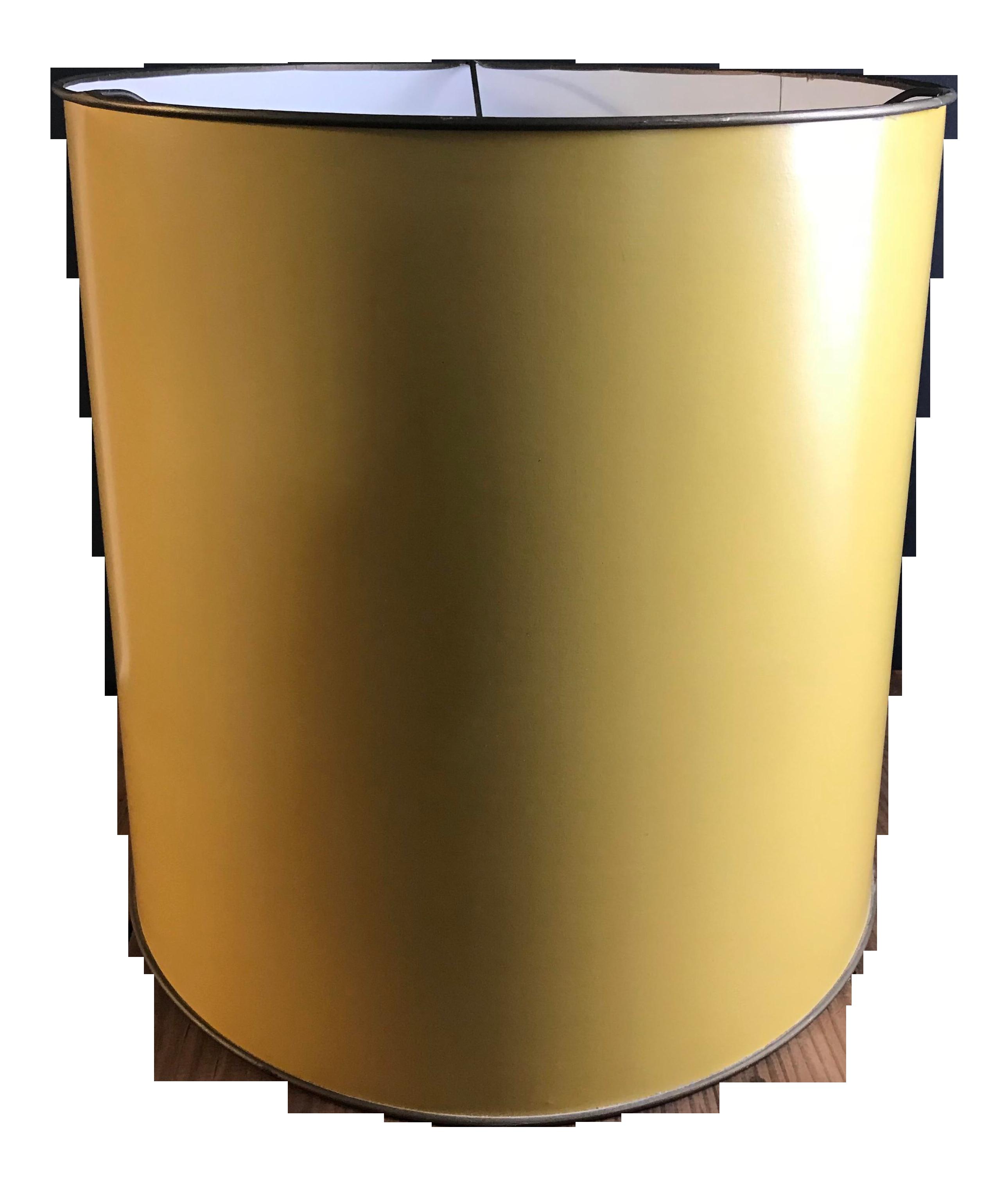 Picture of: Mid Century Modern Mustard Lamp Shade Chairish