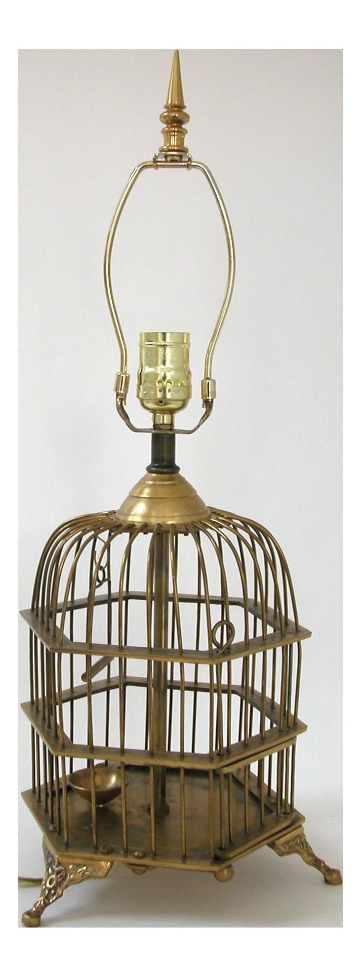 shade cage vintage bird lampshade lamp design birdcage munchkin by creative ideas original