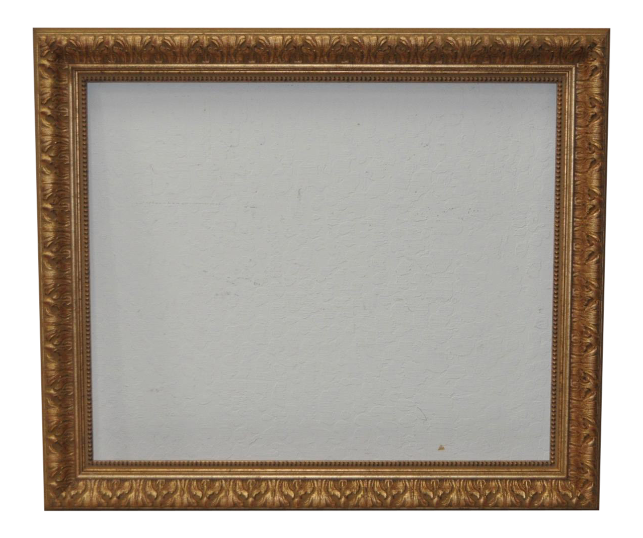 Vintage carved gilded italian frame c1940s to 1950s chairish jeuxipadfo Image collections