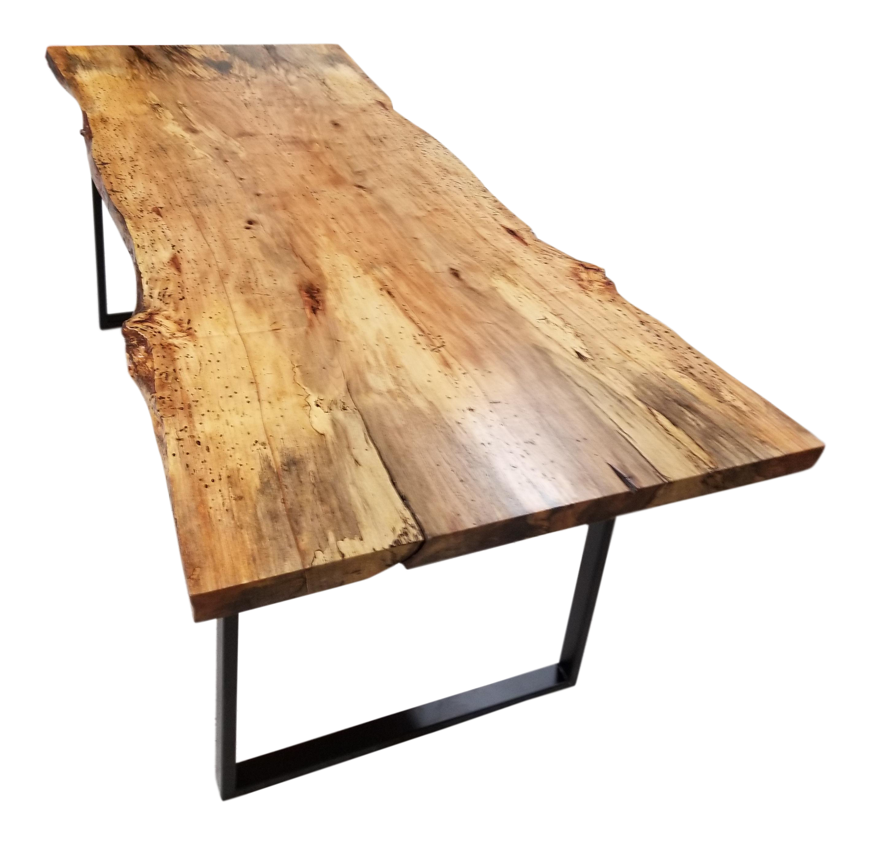 dining table edge live wood tables interiors dt acacia on woodsense legs