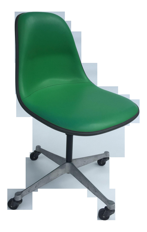 American Restoration Kelly Nude 1970s vintage eames for herman miller kelly green fiberglass pscc chair