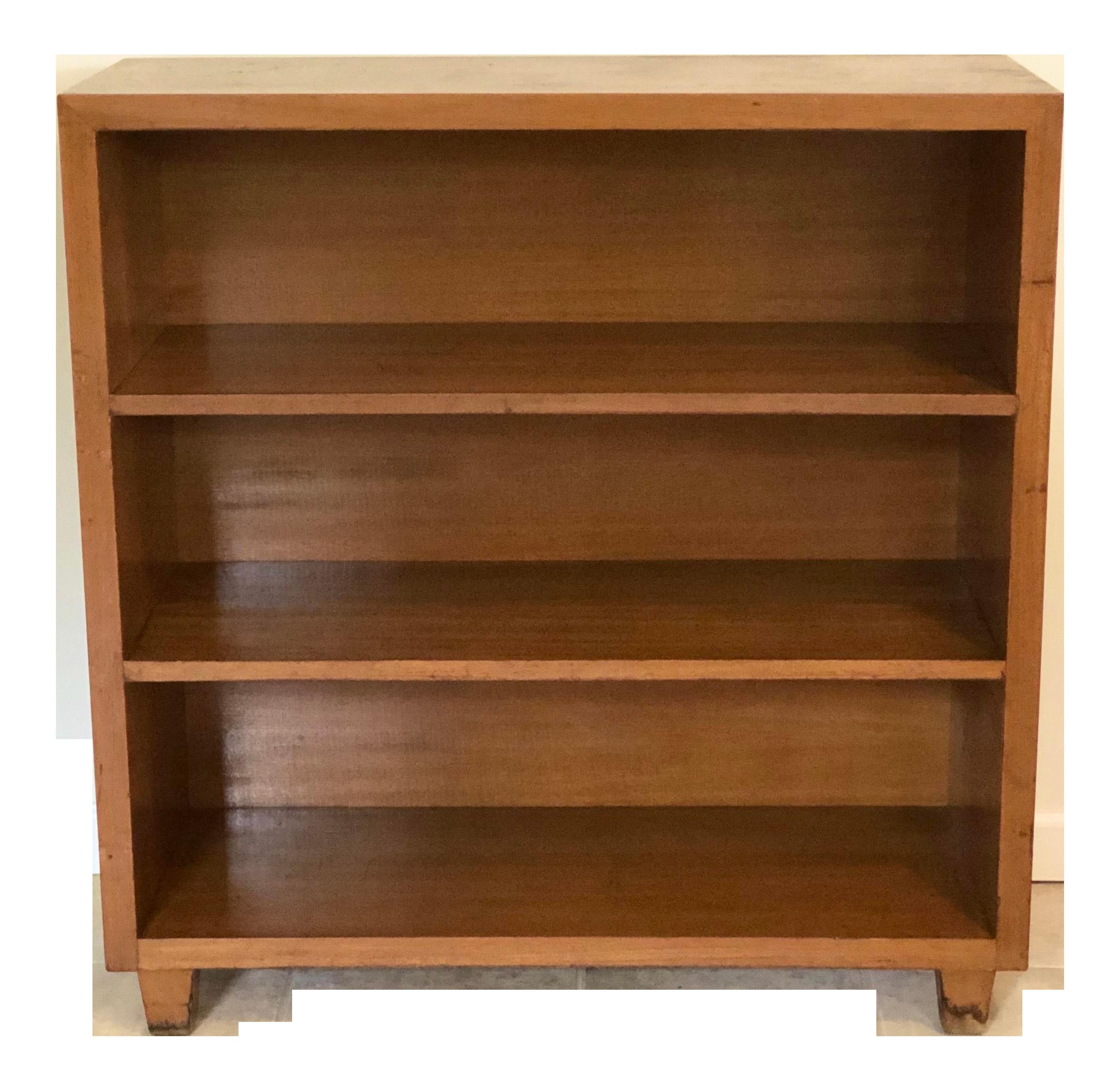 Image of: 1950s Mid Century Modern Furniture Blonde Mahogany Bookcase Chairish