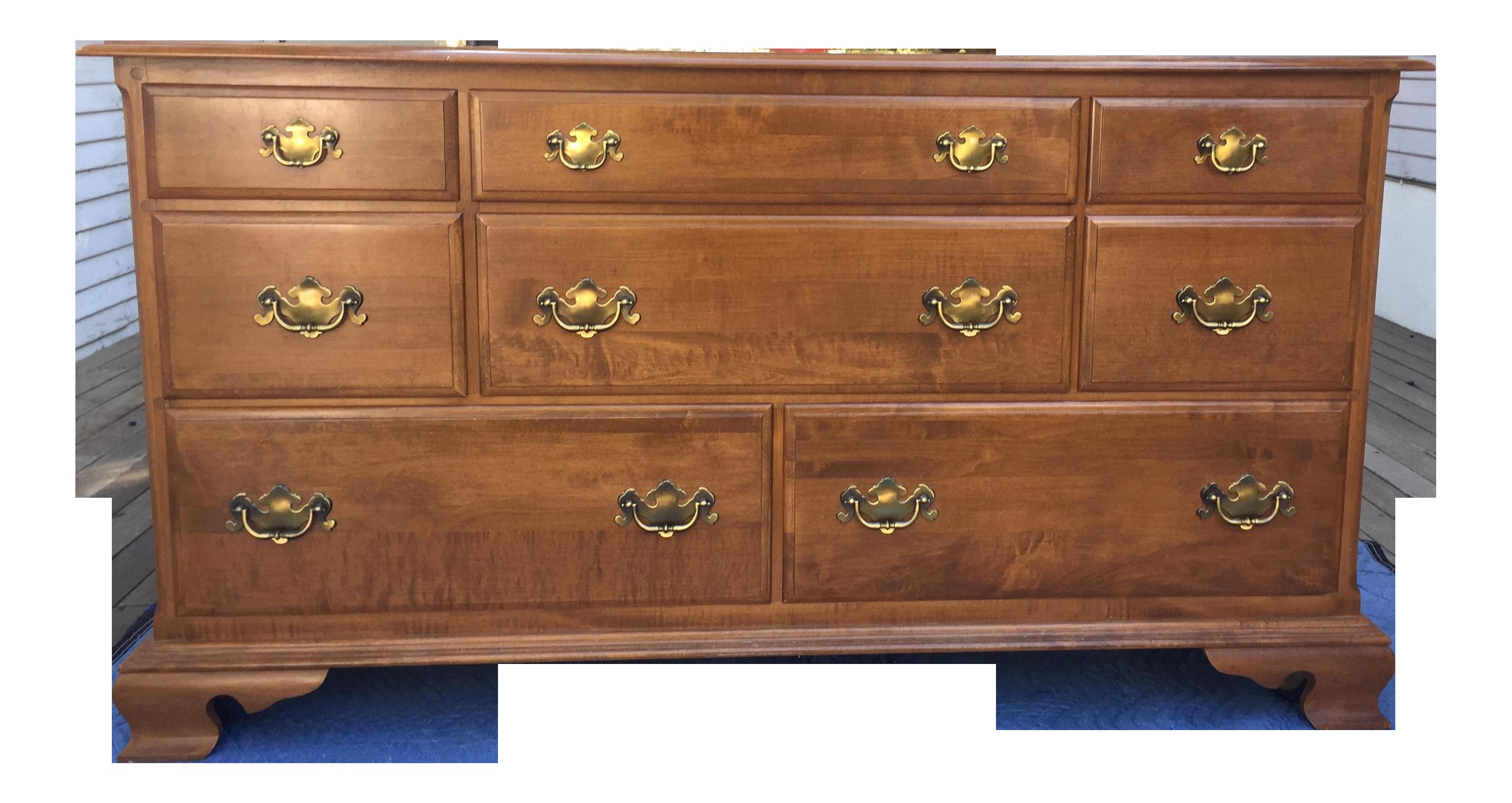 Ethan Allen Vintage Maple Dresser Chairish
