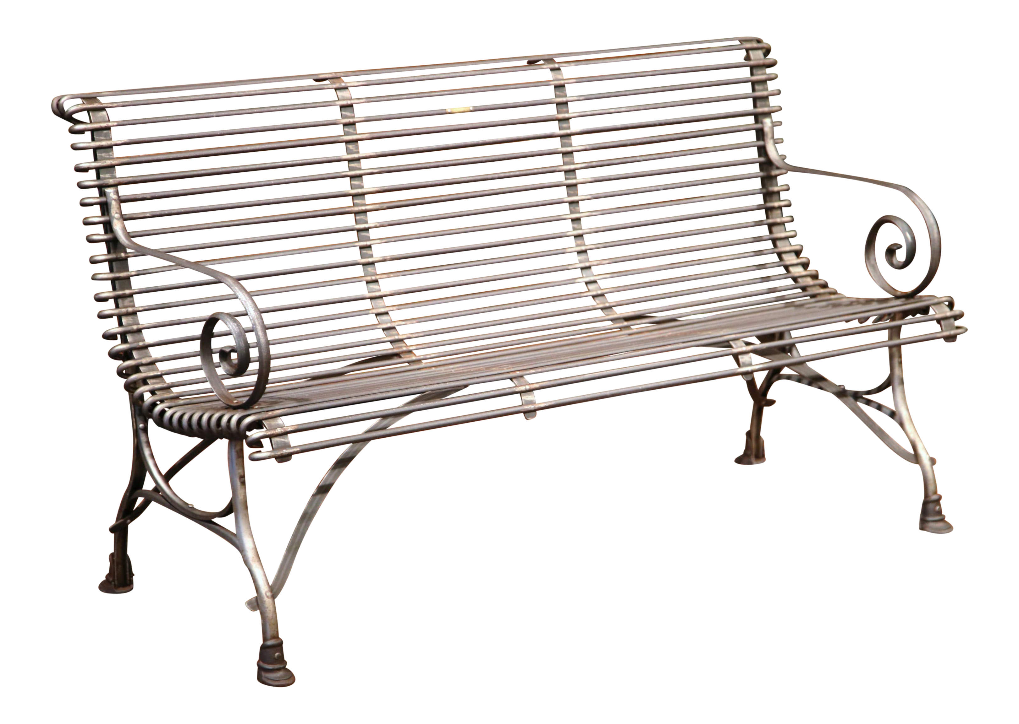 aluminum gracewood glider garden home bench ebbb free ung outdoor cast metal seat today shipping elisabeth product hollow darlee with overstock cushion