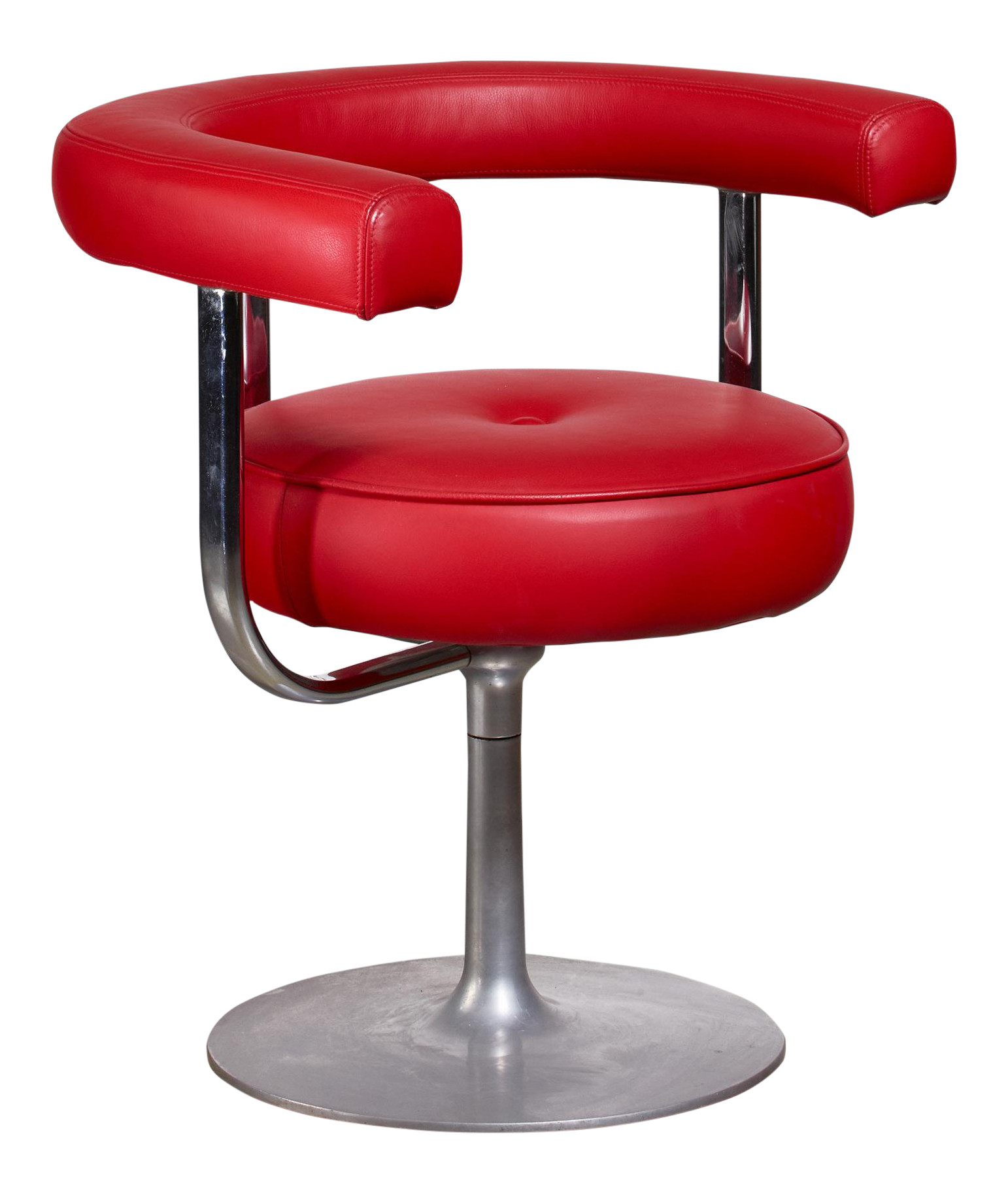 Astonishing Lovely Esko Pajamies Metal And Red Leather Desk Chair For Theyellowbook Wood Chair Design Ideas Theyellowbookinfo