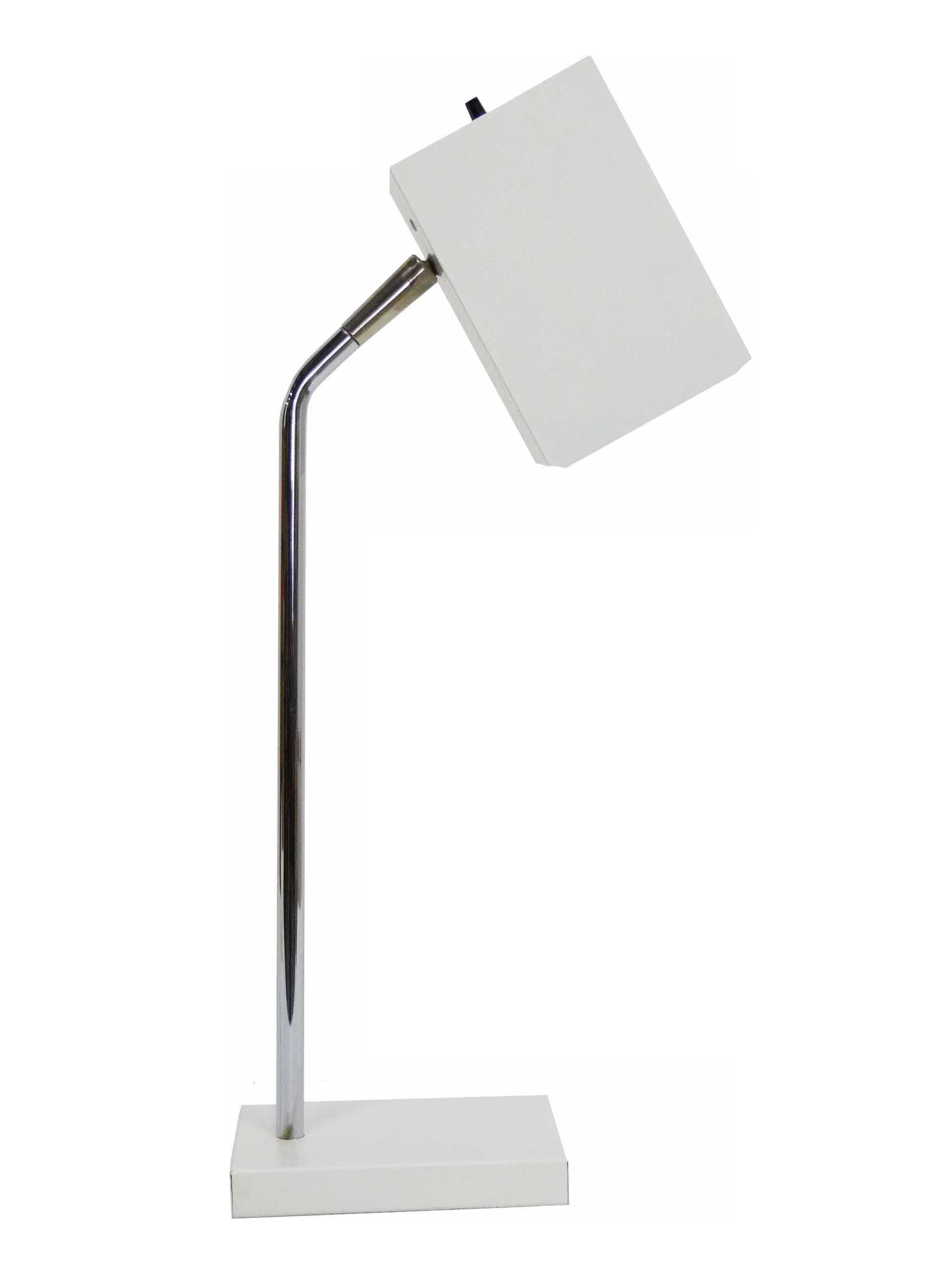 Sonneman For Kovacs White Cube Desk Lamp - Chairish For