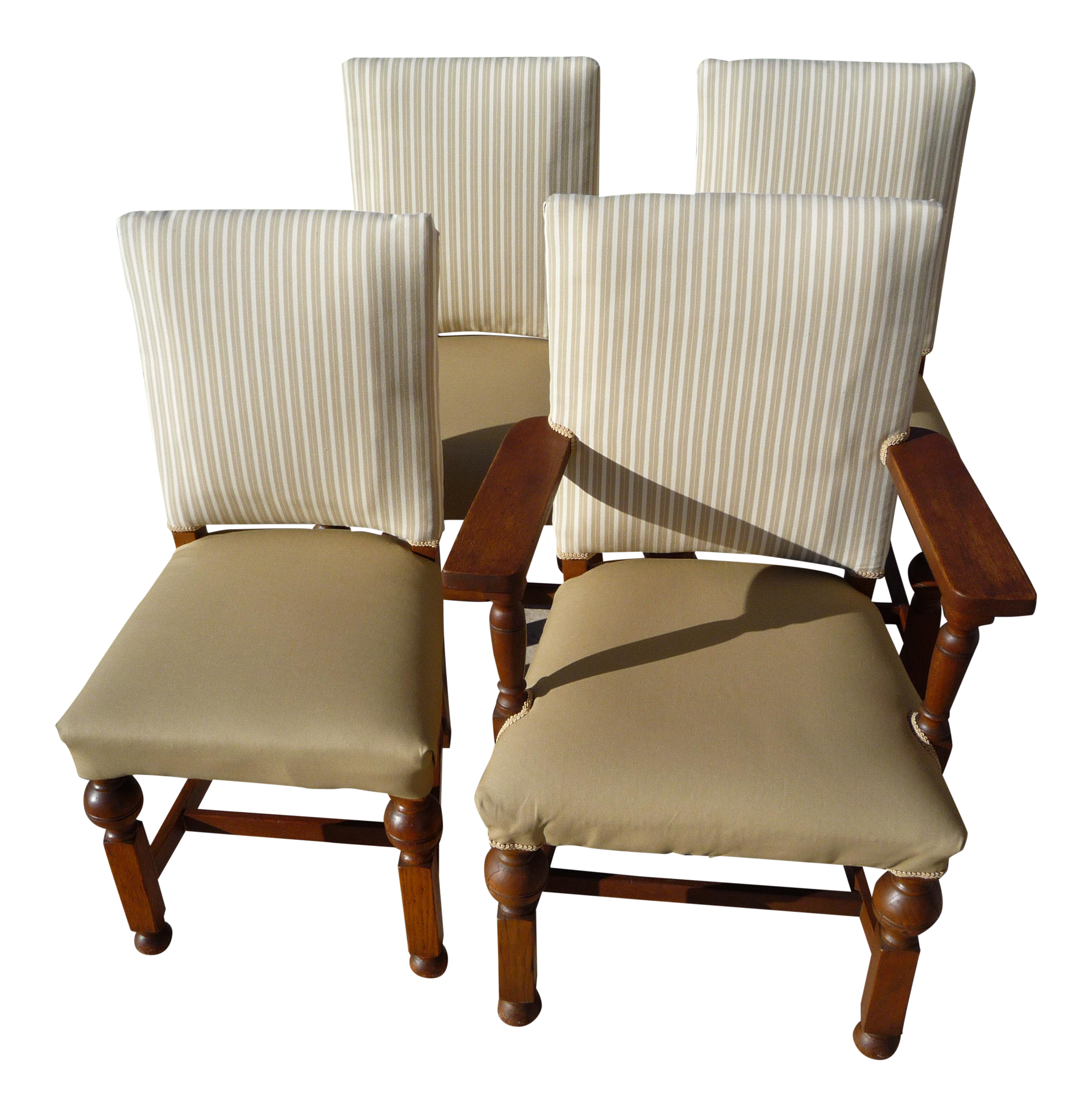 Antique Farmhouse Dining Chairs Set Of 4 Chairish