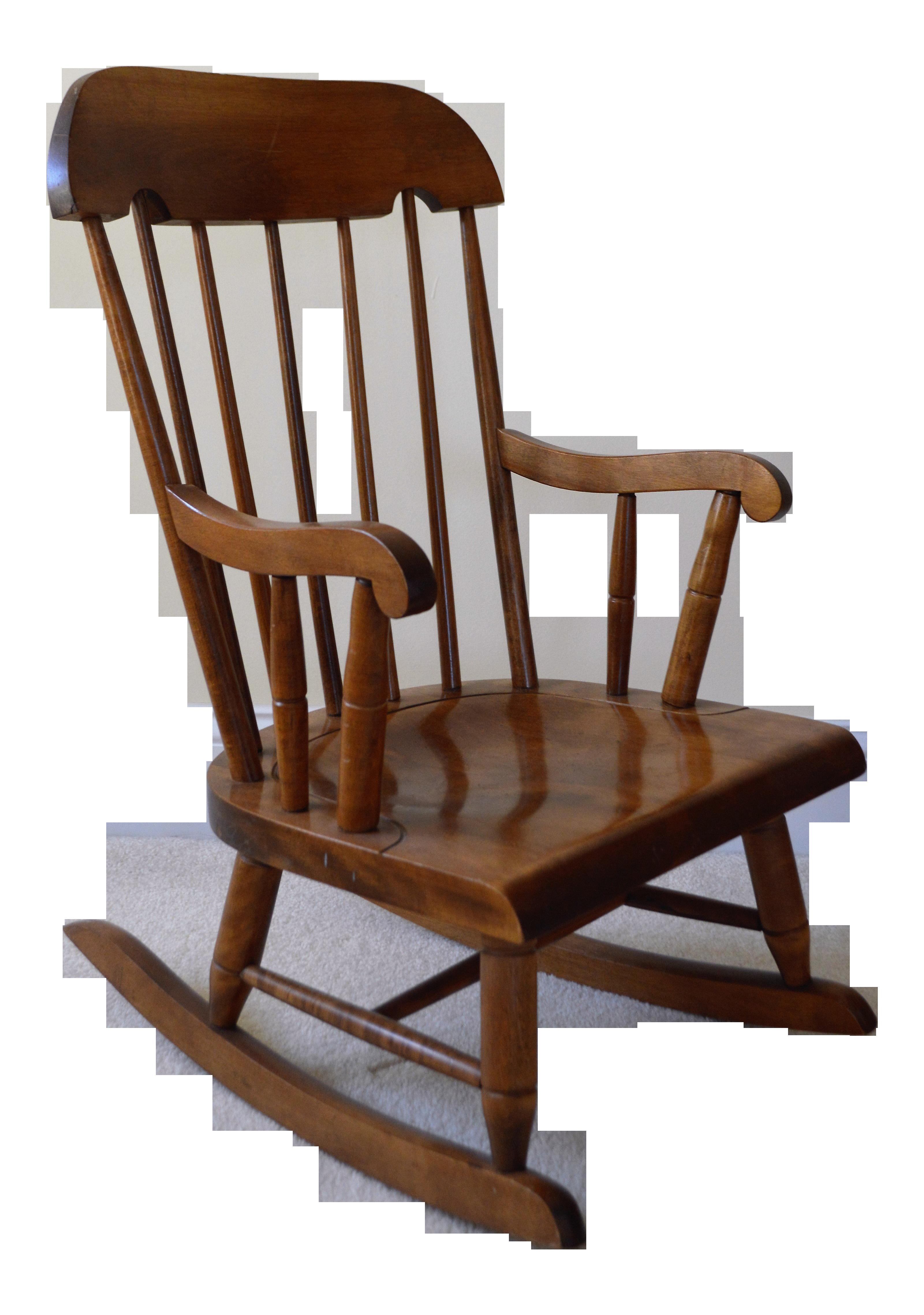 Fine 1970S Vintage Nichols Stones Child Size Rocking Chair Creativecarmelina Interior Chair Design Creativecarmelinacom
