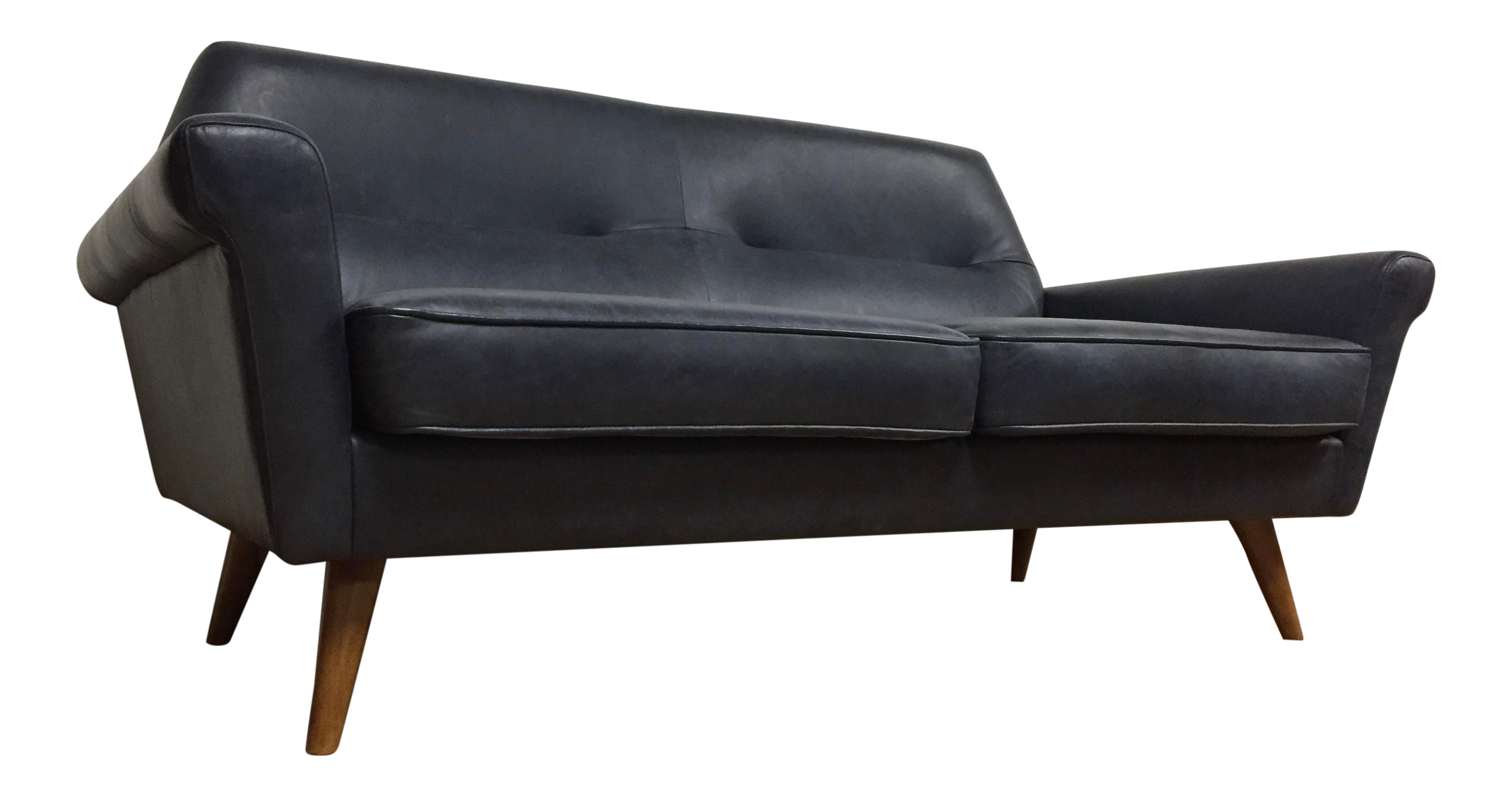 Miraculous West Elm Denmark Leather Loveseat Sofa Unemploymentrelief Wooden Chair Designs For Living Room Unemploymentrelieforg