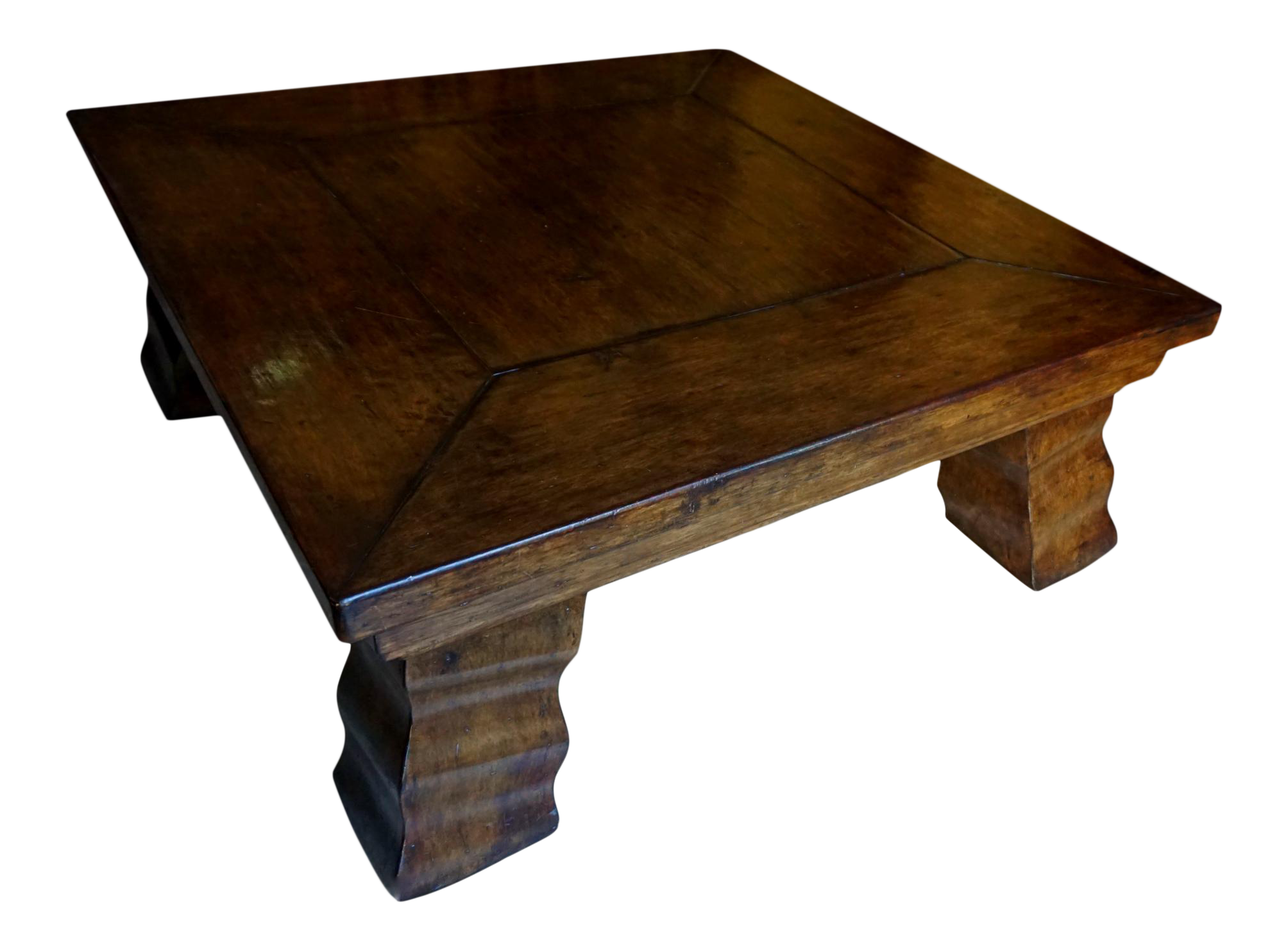 Artifacts 48 Square Wood Coffee Table Chairish