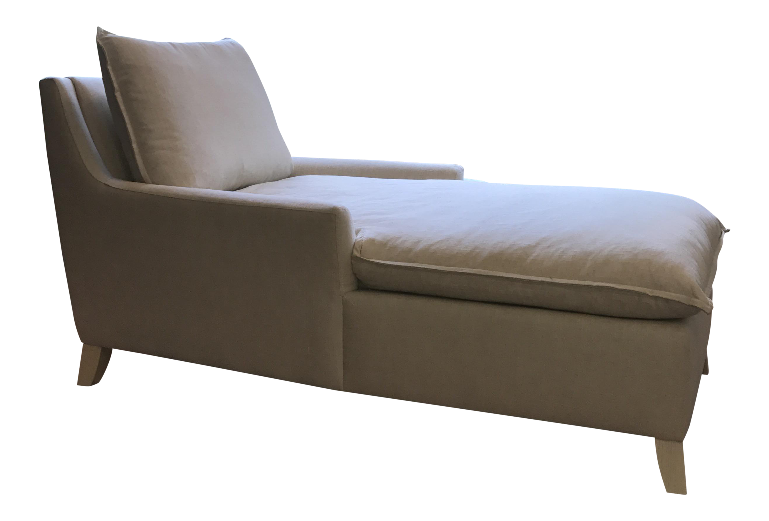 West Elm Bliss Down Filled Chaise