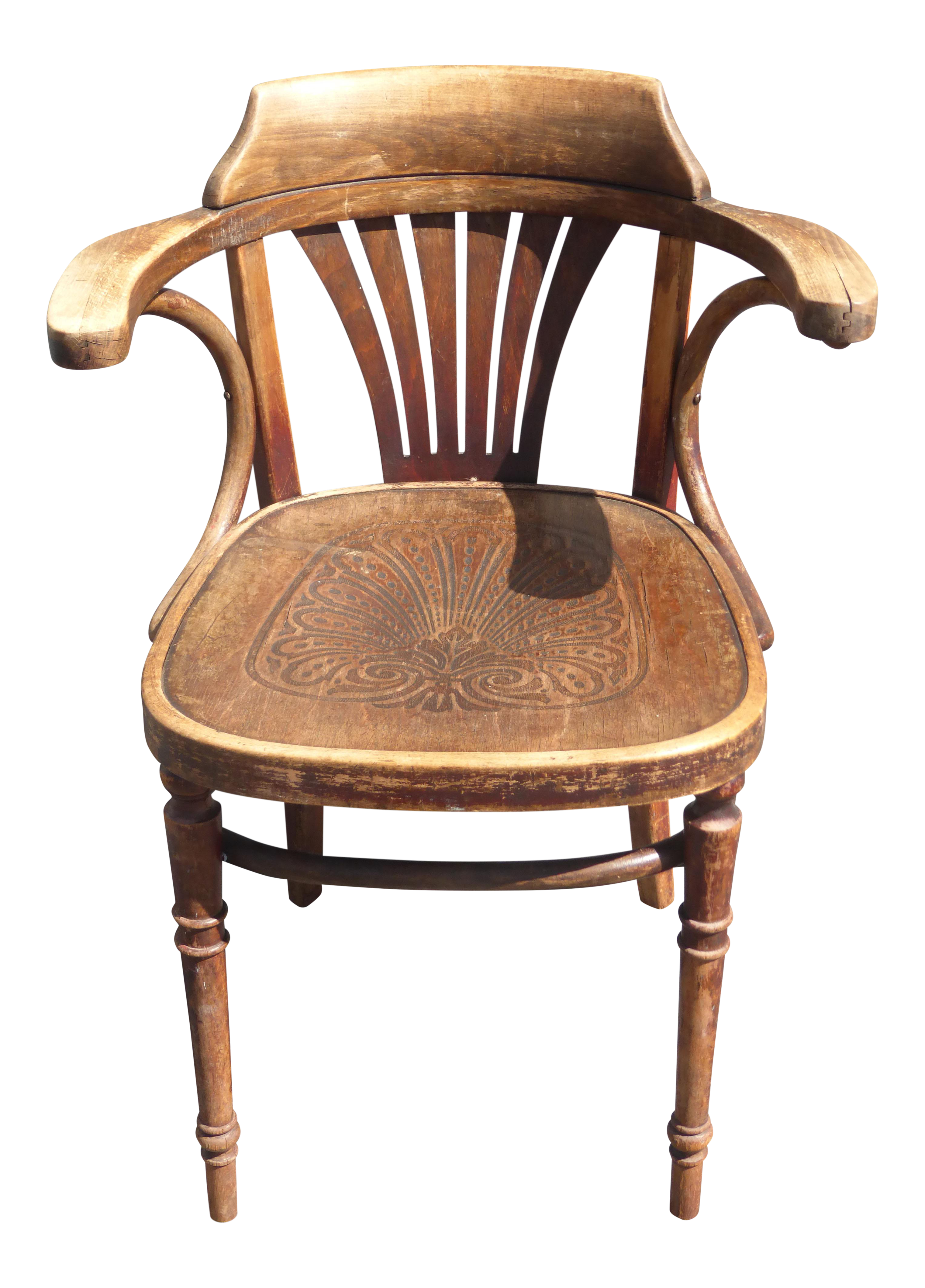Prime Unique Antique Rustic French Ornately Carved Wood Floral Design Accent Chair Gmtry Best Dining Table And Chair Ideas Images Gmtryco