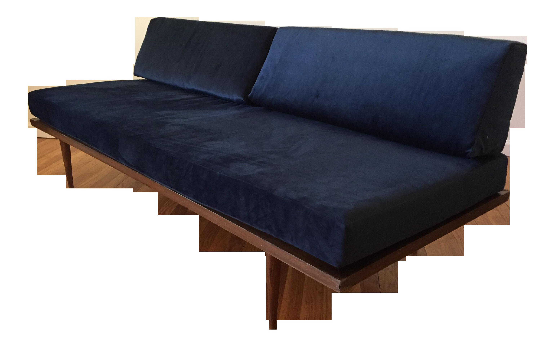 Mid Century Modern Daybed Platform Sofa