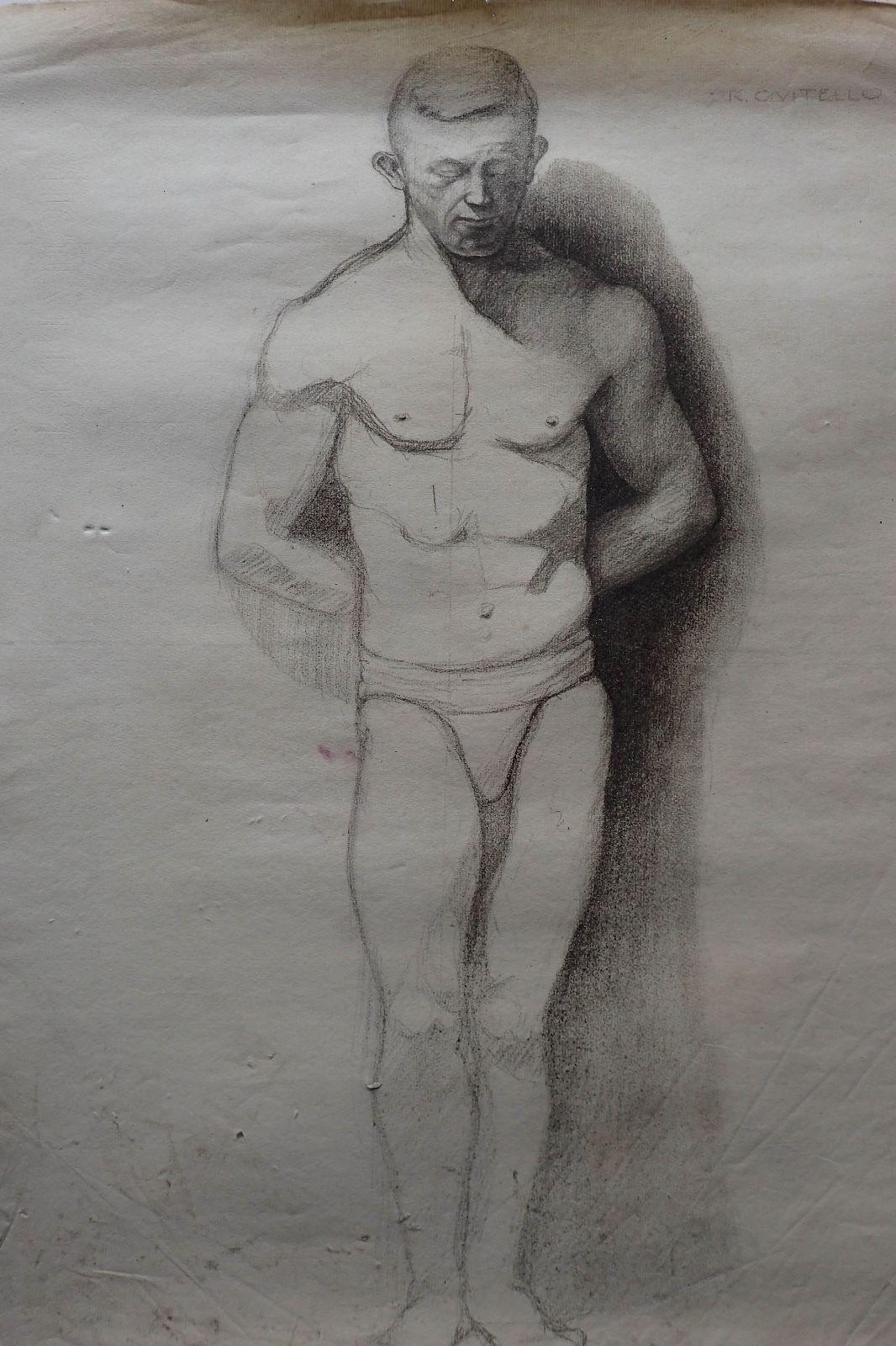 Рисуем голых мужчин