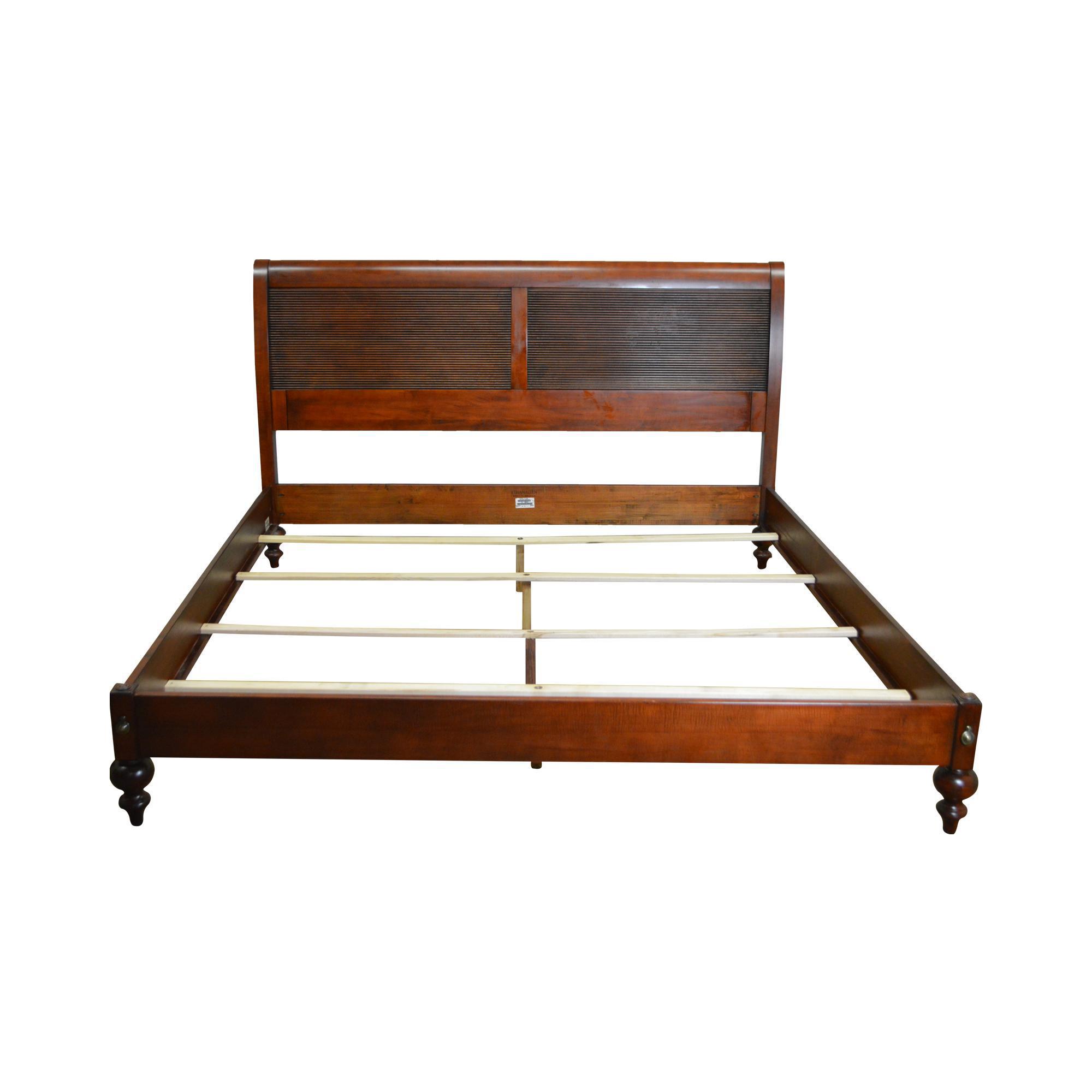 Ethan Allen British Classics King Size Bed Chairish