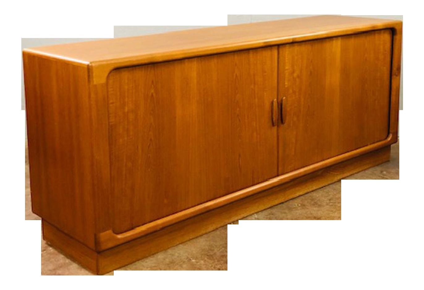1960s Danish Credenza : S dyrlund mid century danish modern teak credenza chairish