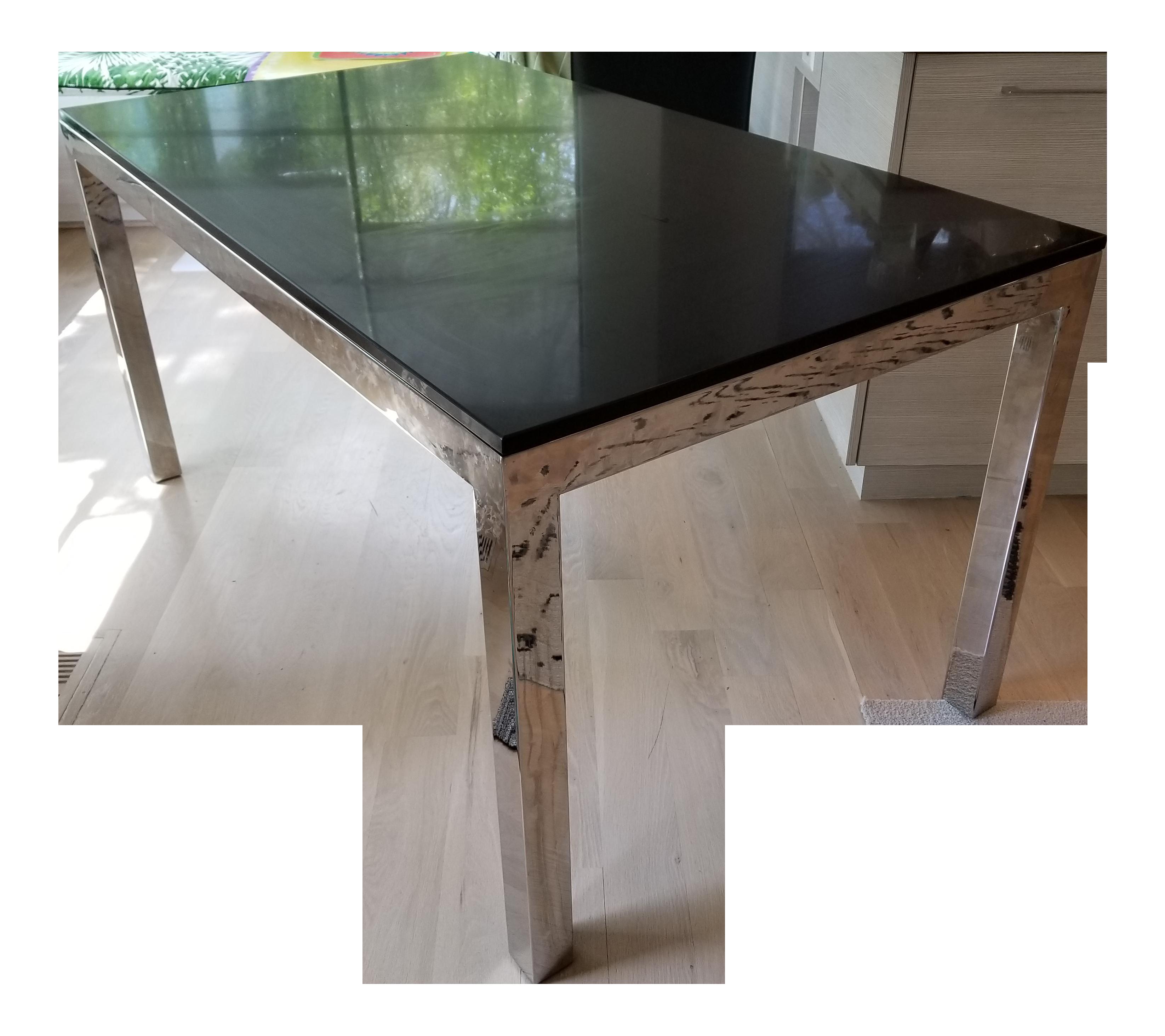 quartz top dining table. Quartz Top Dining Table