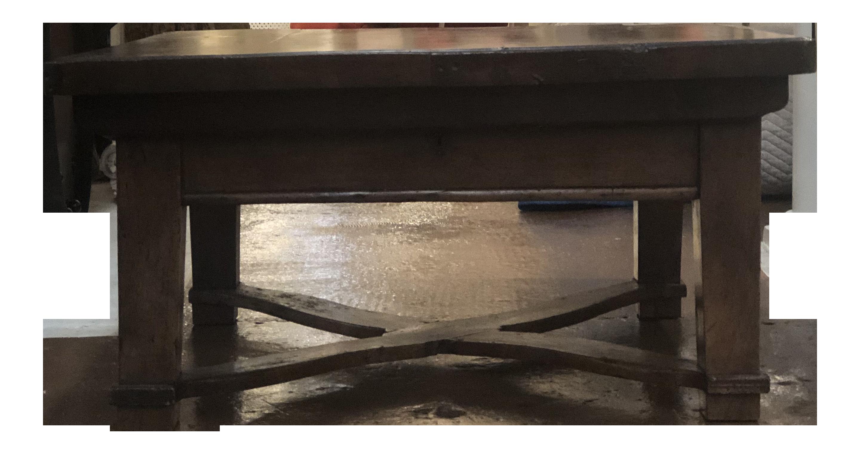 Coffee Table With Sliding Top Storage.Dark Wood Coffee Table With Sliding Top For Storage And Lower Stretcher