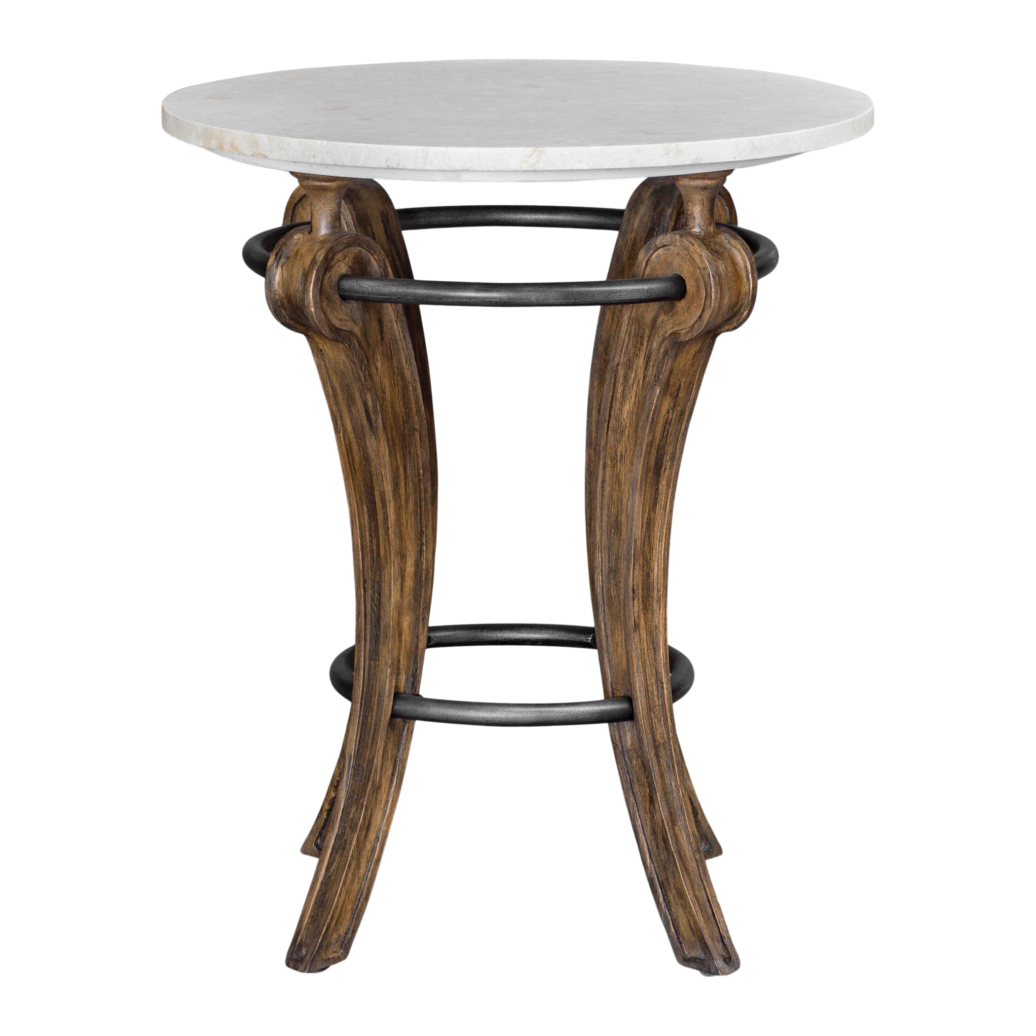 - Transitional Marble Top Accent Table Chairish