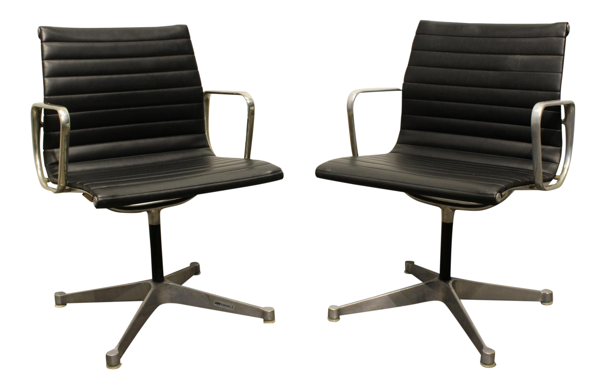 Tremendous Pair Of Vintage Eames For Herman Miller Aluminum Group Office Chairs Forskolin Free Trial Chair Design Images Forskolin Free Trialorg