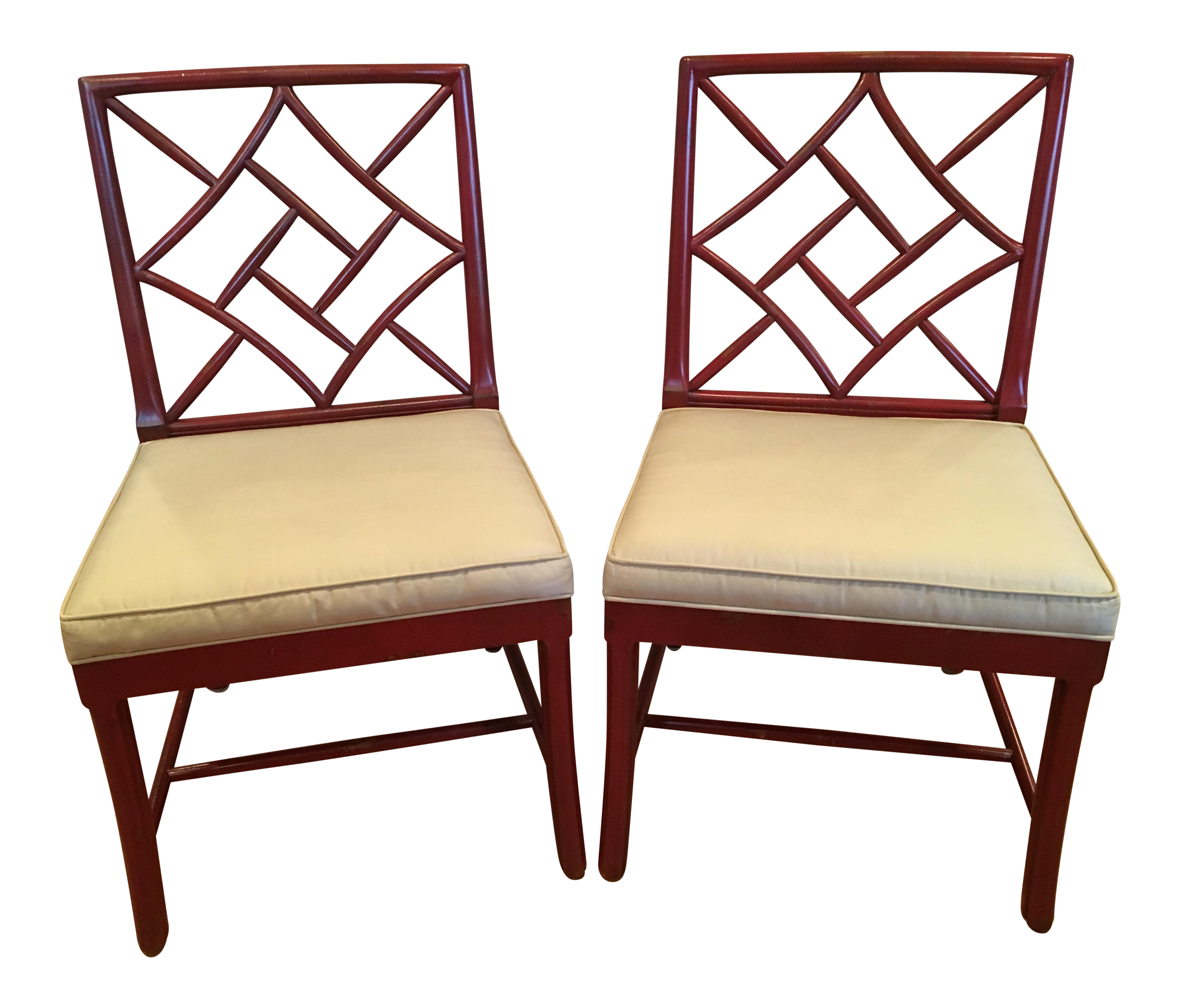 Elegant Hickory Chair Fretwork James River Side Chairs   A Pair Photo Gallery