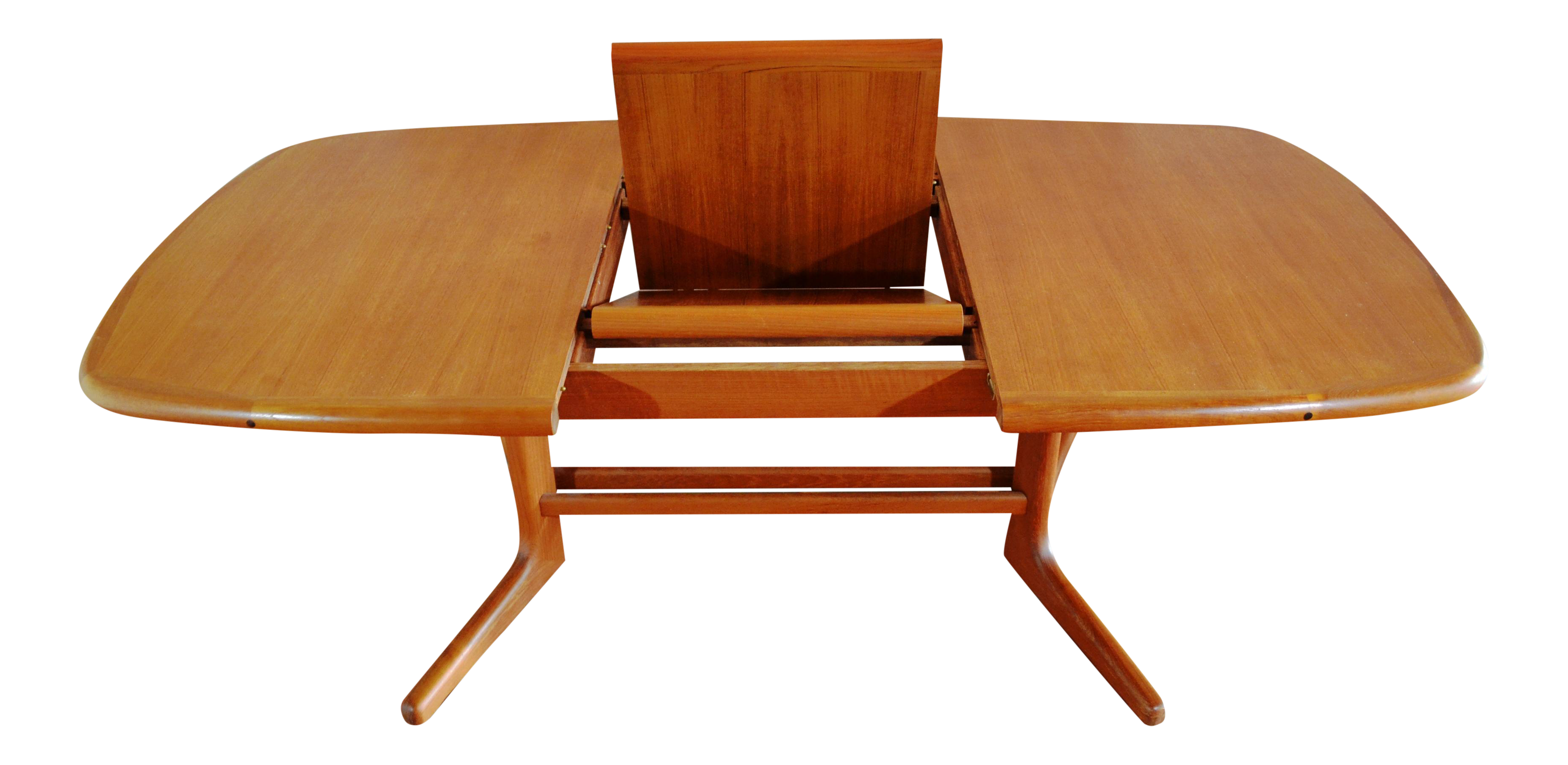 Danish Modern Teak Butterfly Dining Table Chairish - Teak dining table with leaf