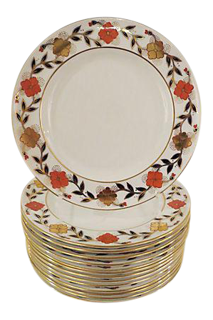 sc 1 st  Chairish & Tiffany u0026 Co. Royal Crown Derby Dinner Plates - Set of 14 | Chairish