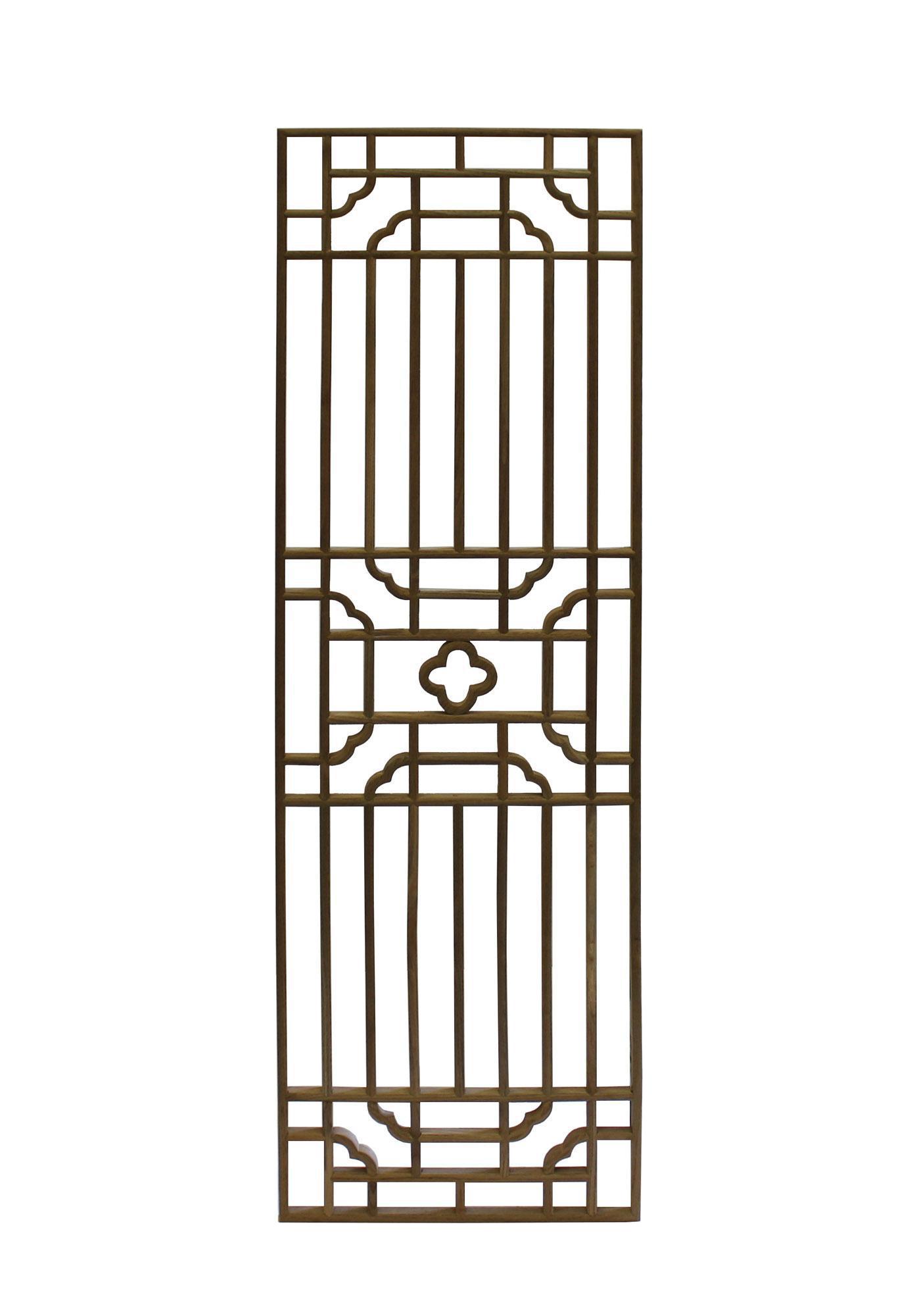 Rectangular Plain Wood Geometric Pattern Wall Panel Chairish