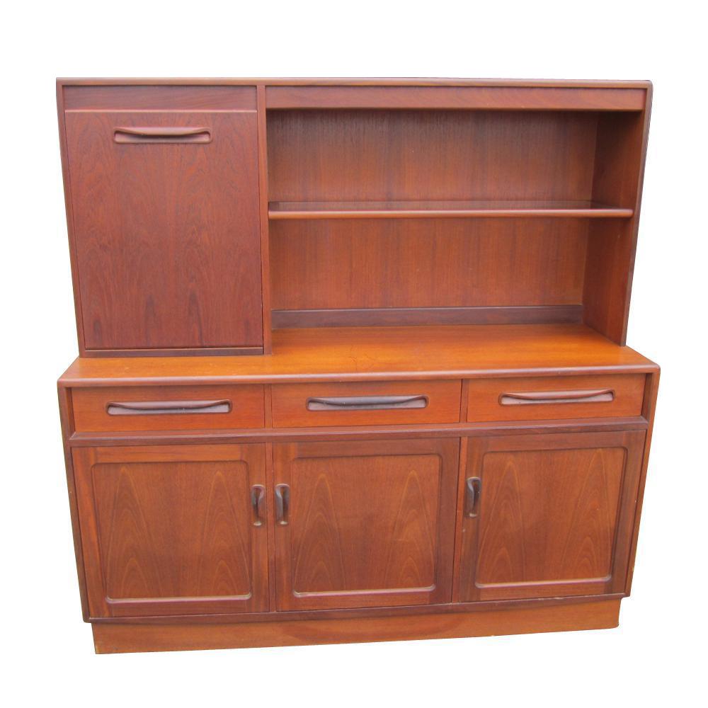 Mid century modern g plan bar cabinet chairish