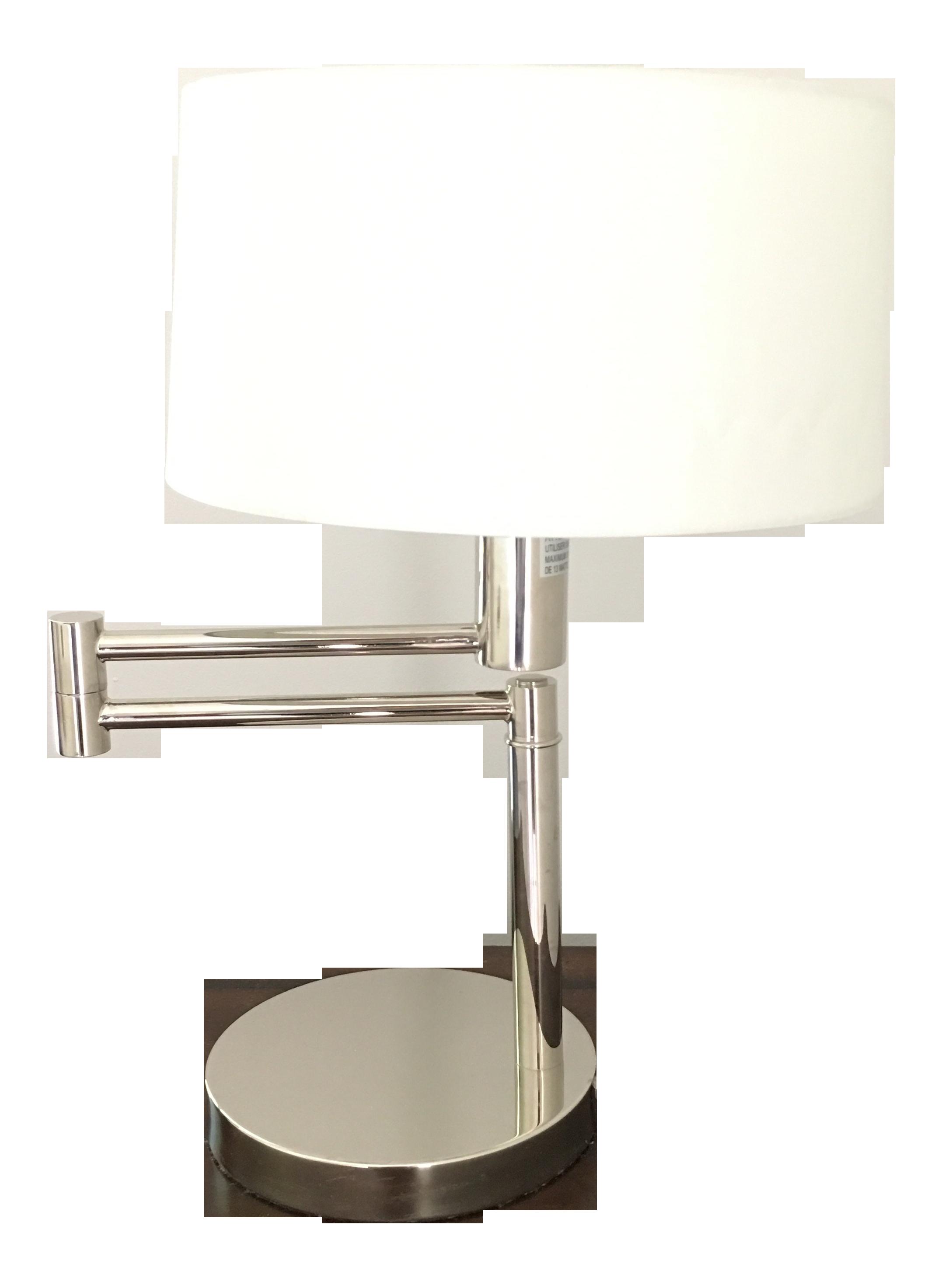 Modern Ralph Lauren Swing Arm Table Lamp Chairish