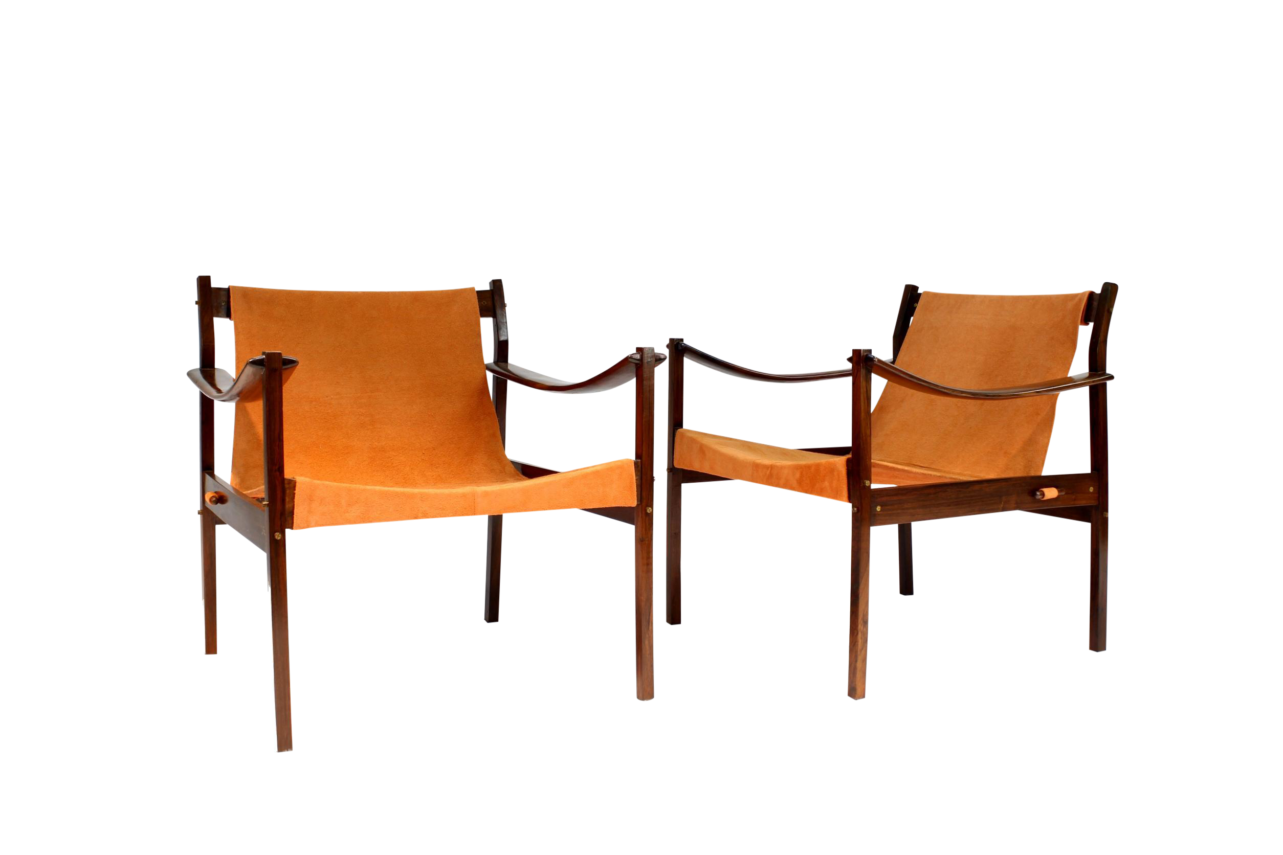 Incredible 1960S Vintage Jorge Zalszupin Rosewood Lounge Chairs A Pair Ocoug Best Dining Table And Chair Ideas Images Ocougorg