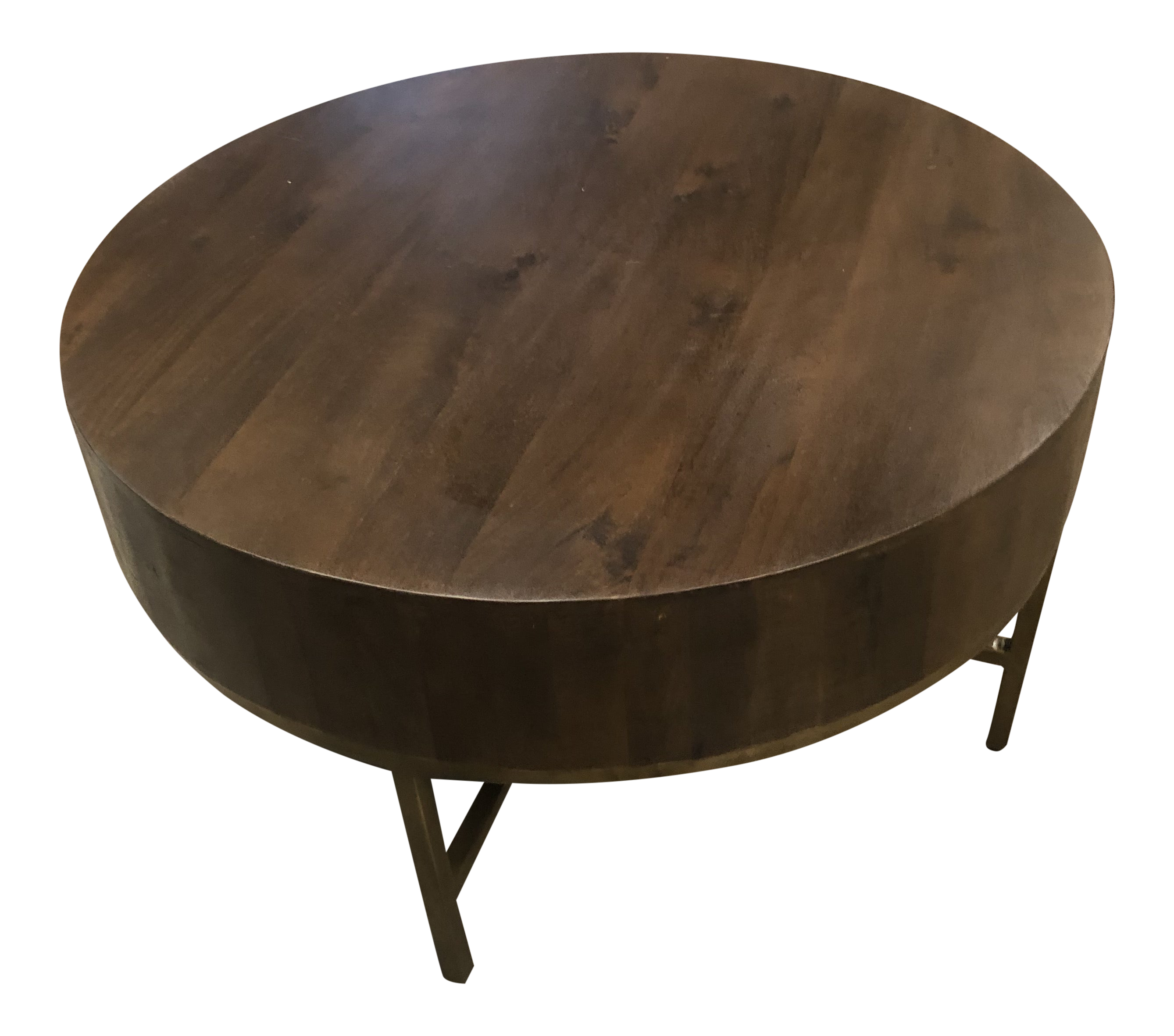 - Contemporary Bradley Round Coffee Table By George Oliver Chairish