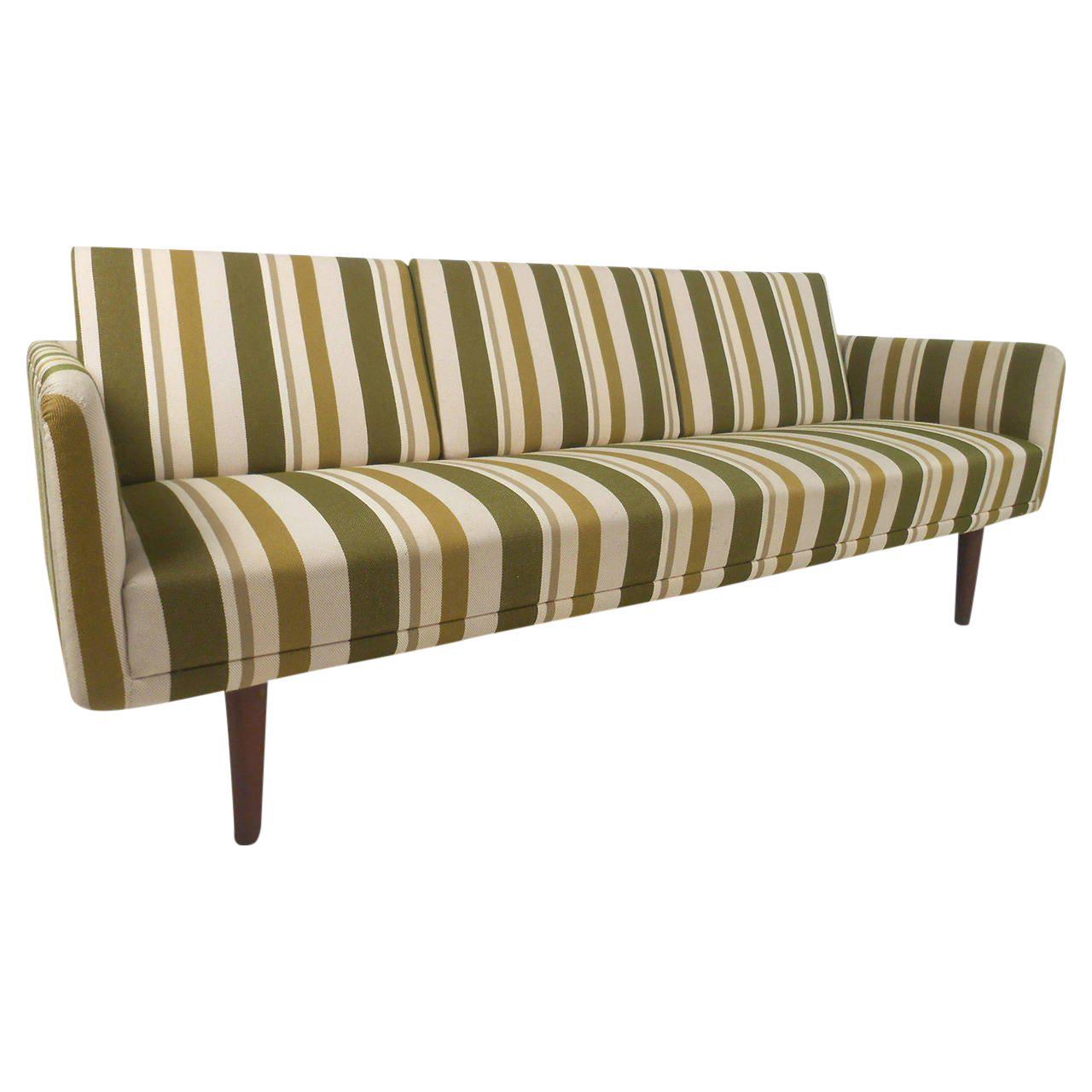 Mid-Century Danish Sofa Attributed to Børge Mogensen | Chairish